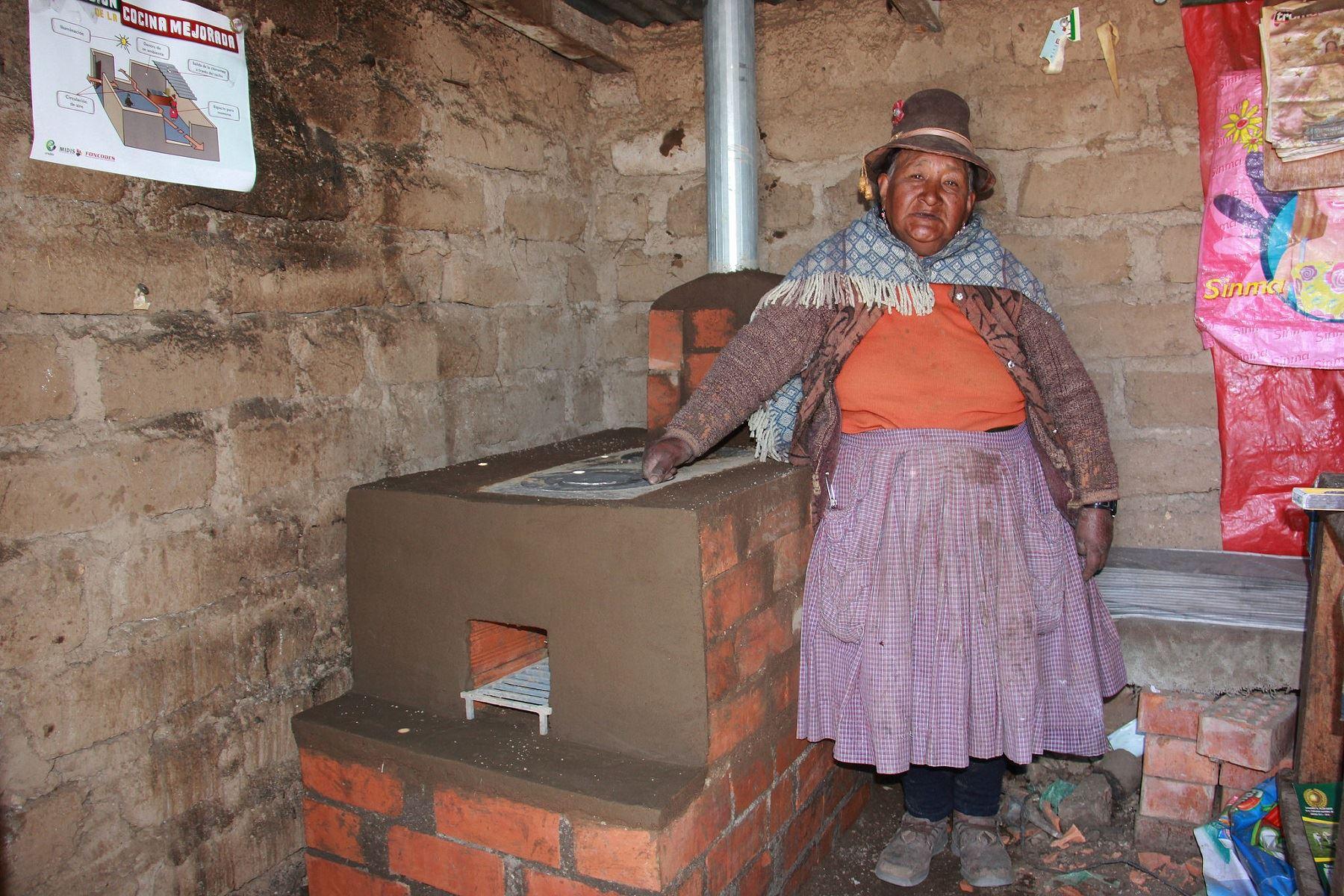 Midis entregará cocinas mejoradas y reforzará viviendas rurales como parte del Plan Multisectorial ante las Heladas y Friaje 2018. ANDINA/Difusión