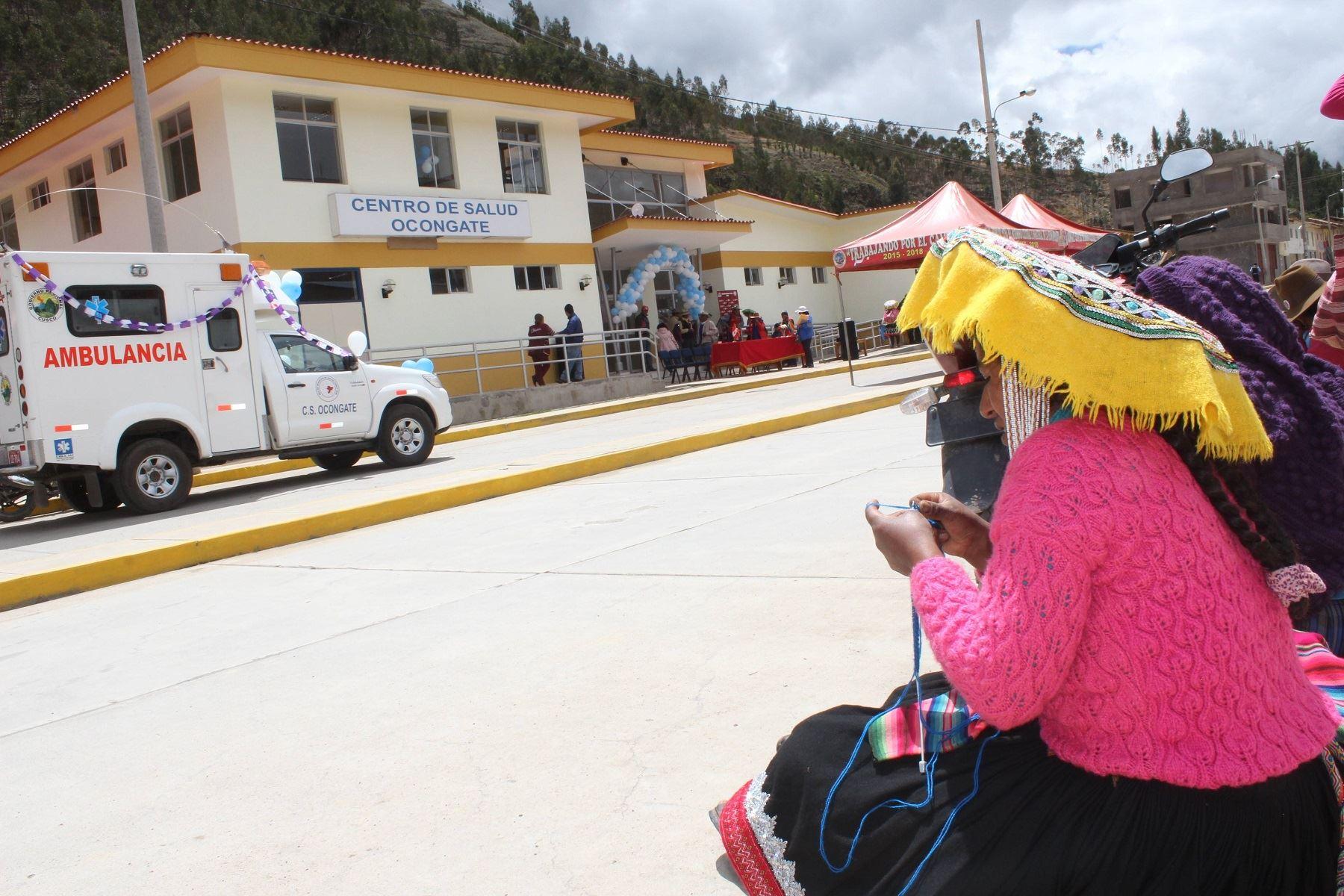 Sector Salud de Cusco se declara en alerta verde por visita del Papa Francisco. ANDINA/Percy Hurtado