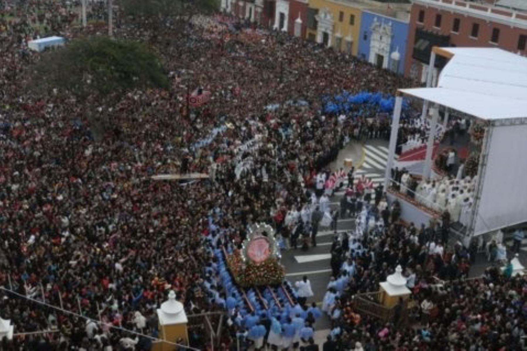 A la fecha suman 34 las imágenes veneradas por la feligresía católica procedentes de Piura, Lambayeque, Cajamarca, Amazonas, y Áncash que estarán presentes en el gran recibimiento que el norte peruano hará al Papa Francisco durante su visita pastoral a Trujillo.