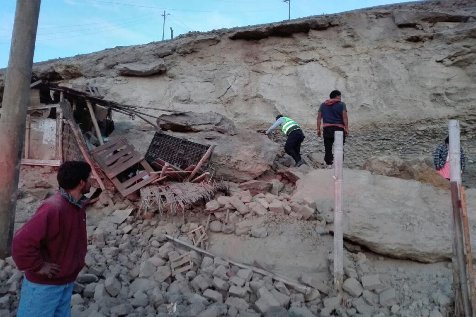 Sismo de 6.8 grados en Arequipa. Foto. COEN