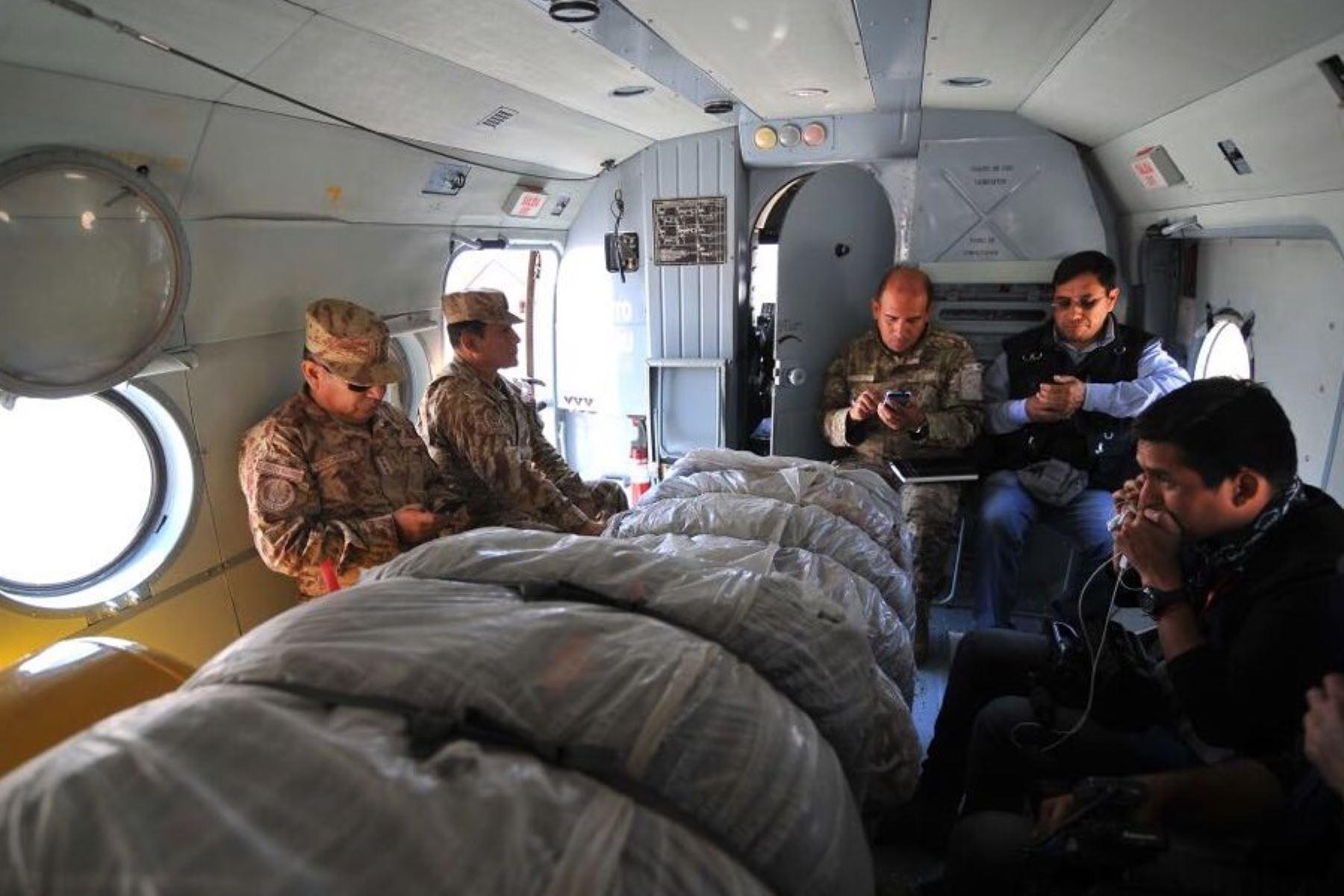 Las Fuerzas Armadas anunció que la III División del Ejército está a disposición de las zonas afectadas.