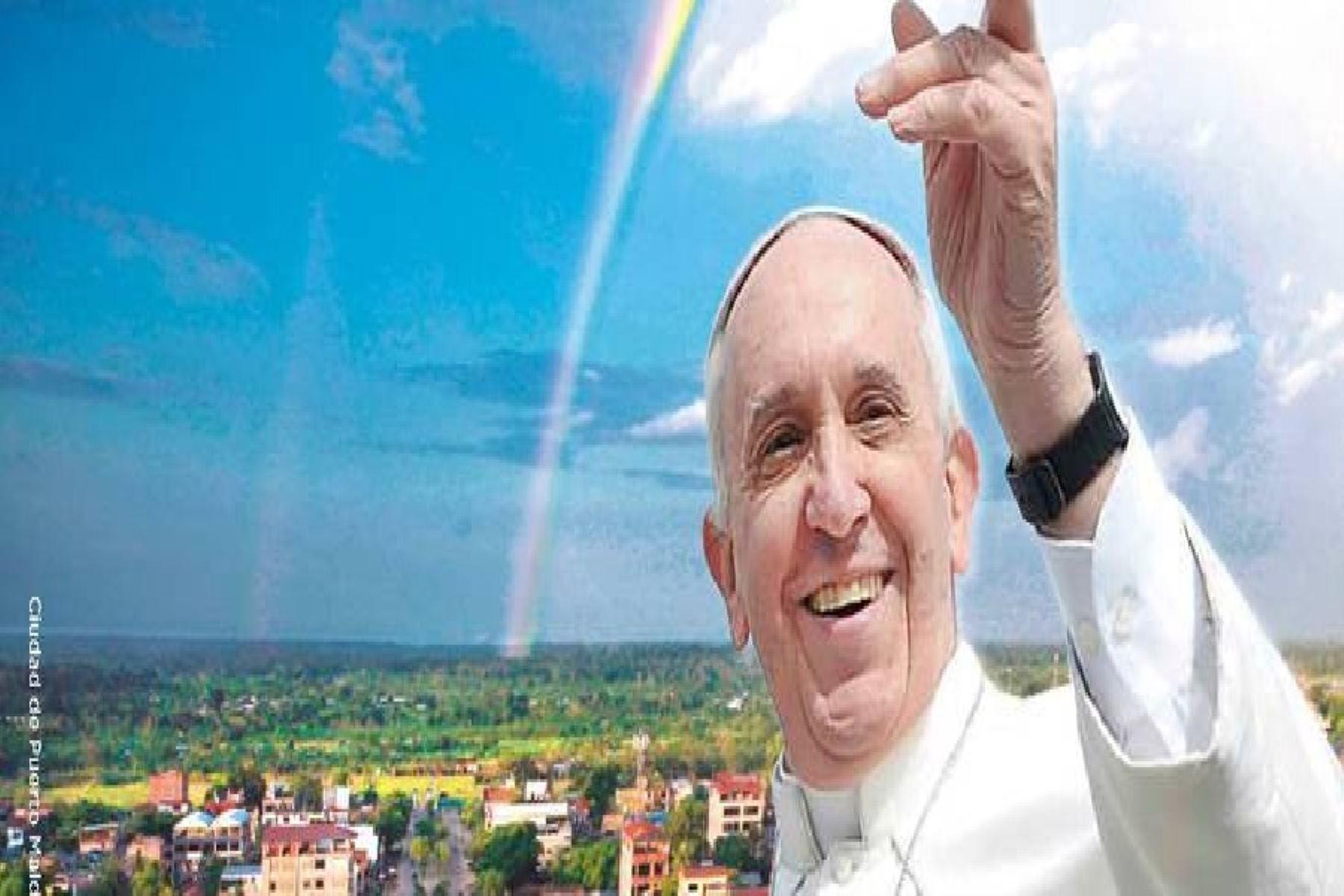 Puerto Maldonado espera con mucho entusiasmo al Papa Francisco.