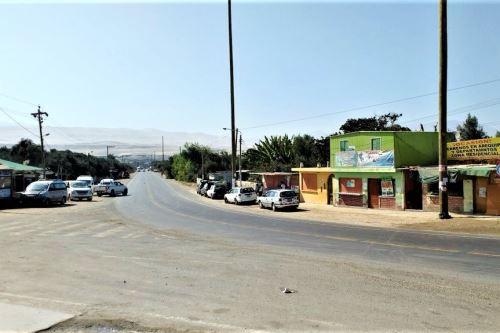 La localidad de Yauca fue remecida esta madrugada por un sismo de magnitud 4.4, informó el IGP. ANDINA/archivo