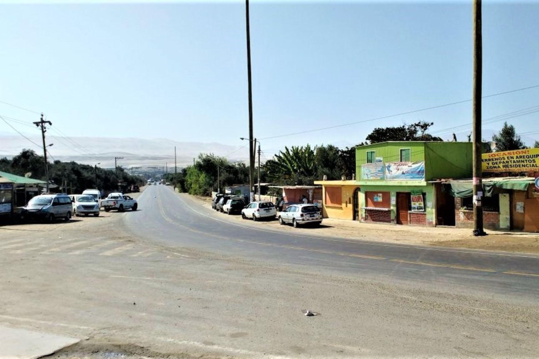Yauca fue remecida hoy por un fuerte sismo. ANDINA/archivo
