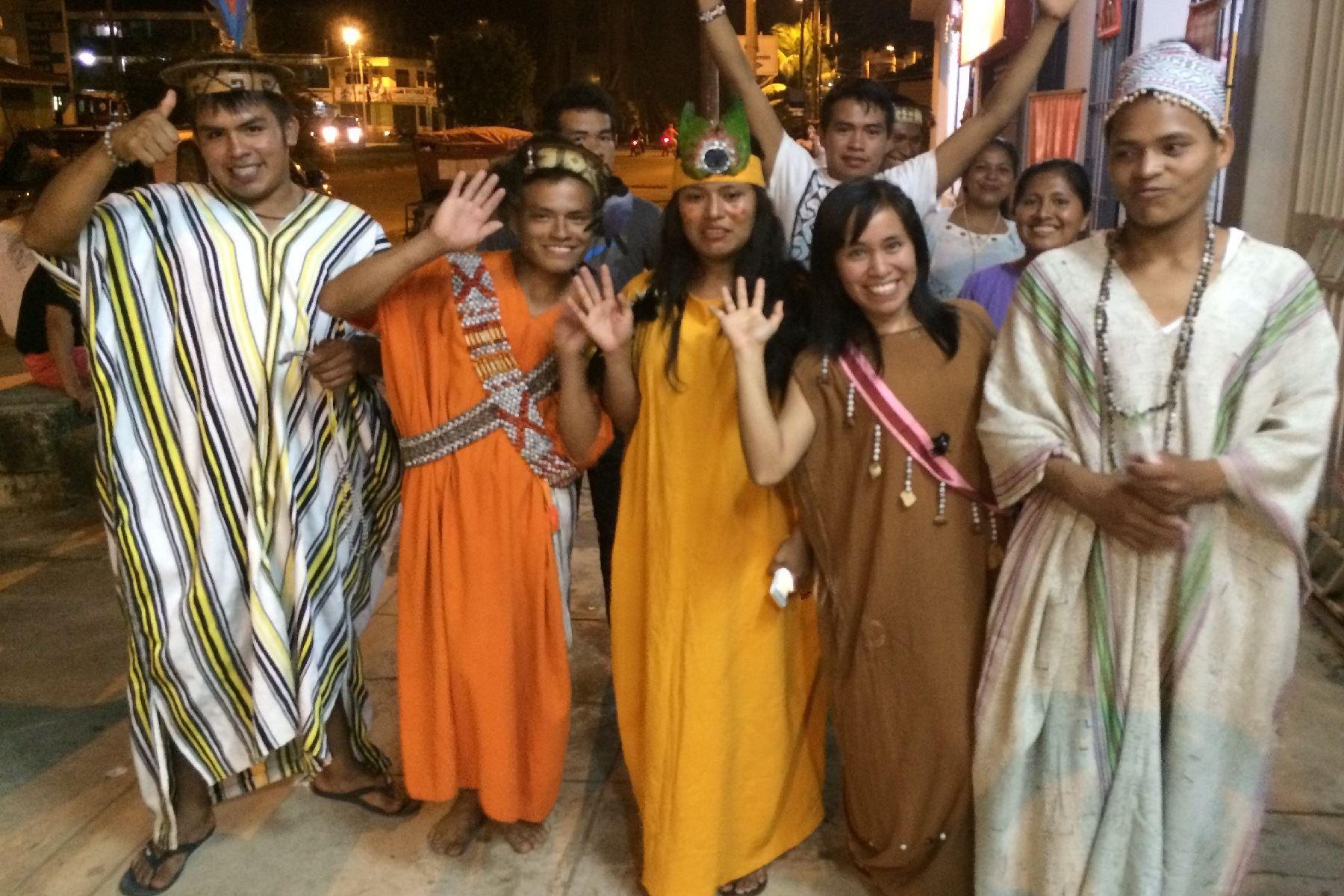 Delegaciones indígenas llegan a Puerto Maldonado para participar de Encuentro con Papa Francisco.