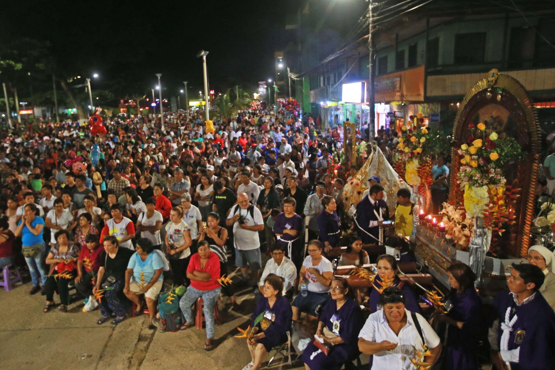 Gran expectativa en Puerto Maldonado por visita del Papa Francisco. Foto: ANDINA/Jhony Laurente.