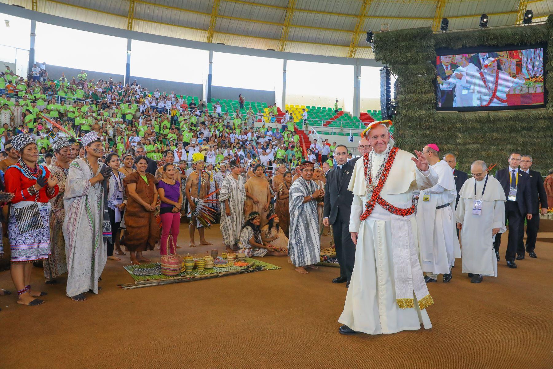 Según Alfonso Grados, ex coordinador de la visita del Papa Francisco, el Santo Padre deja tareas que cumplir a favor de las comunidades amazónicas. ANDINA/Prensa Presidencia