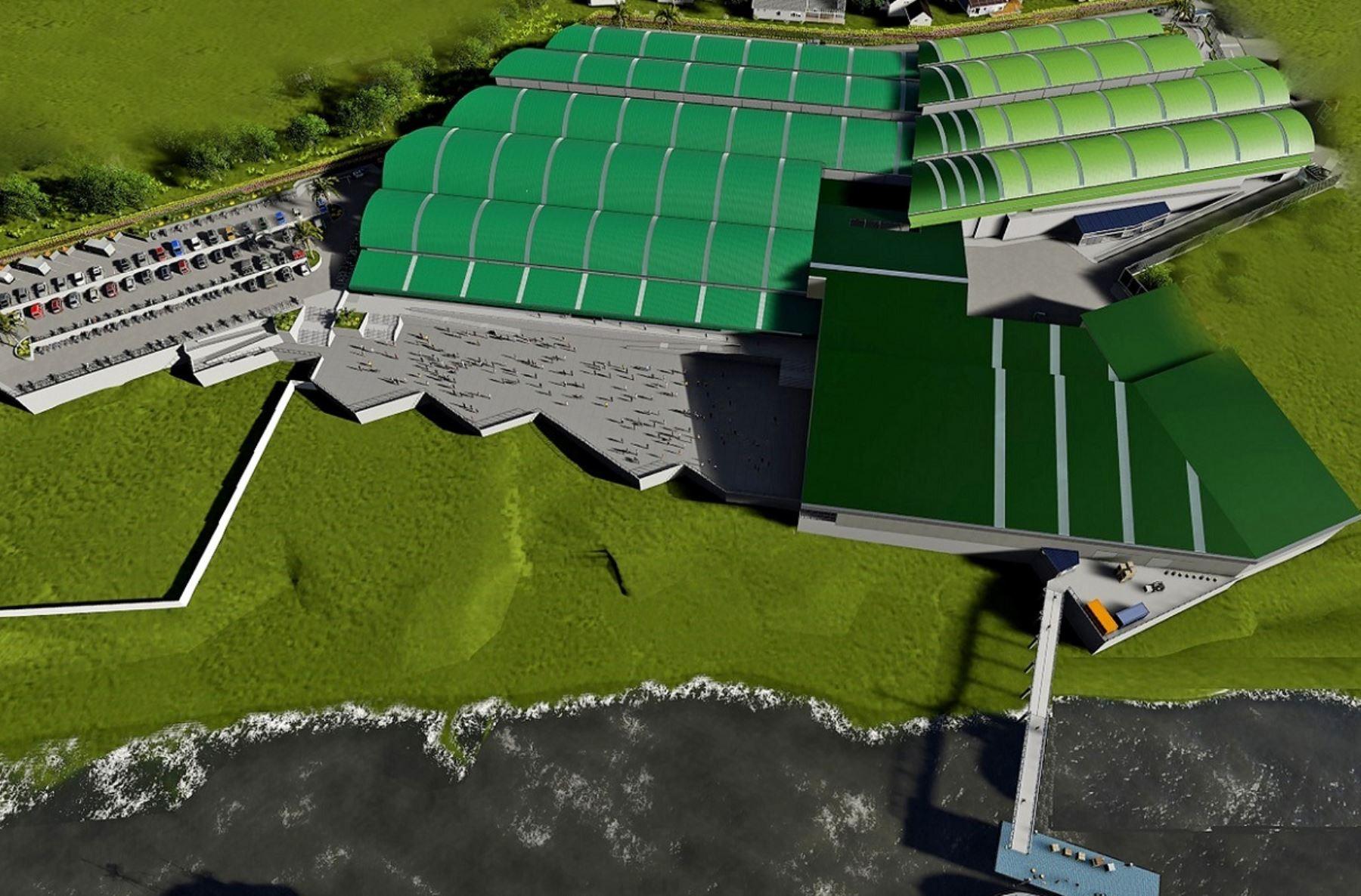 Produce declara de interés sectorial obras del Gran Mercado de Belén, ubicado en Iquitos, Loreto. Ilustración: