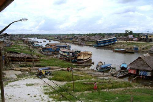 El Senamhi informó que el nivel del río Marañón descendió y ahora se encuentra en alerta naranja. Foto: ANDINA/Difusión