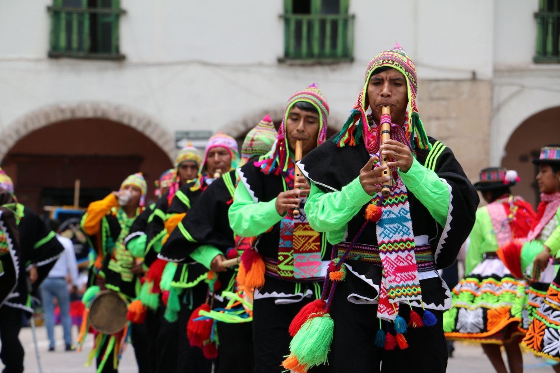 yacucho se prepara para celebrar su tradicional carnaval.Foto:  ANDINA/archivo.