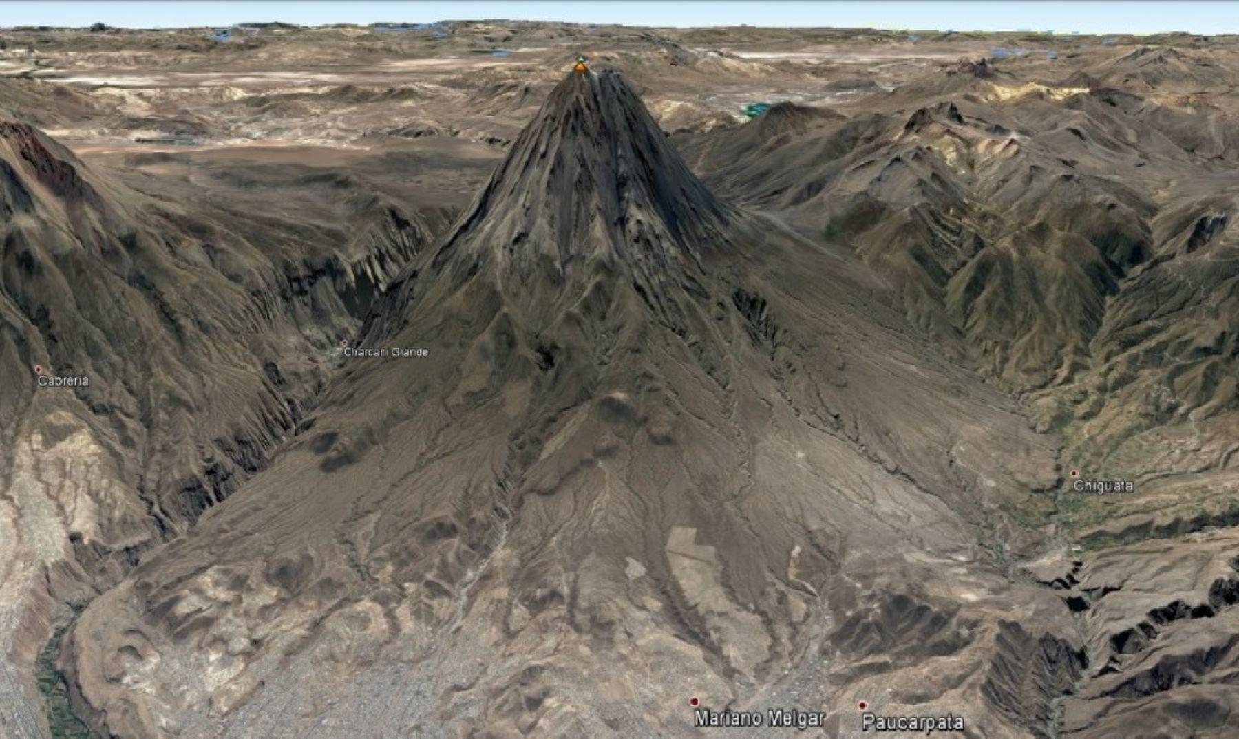 Lahares o huaicos provocados por las constantes lluvias que se registran en la parte alta de la región Moquegua.