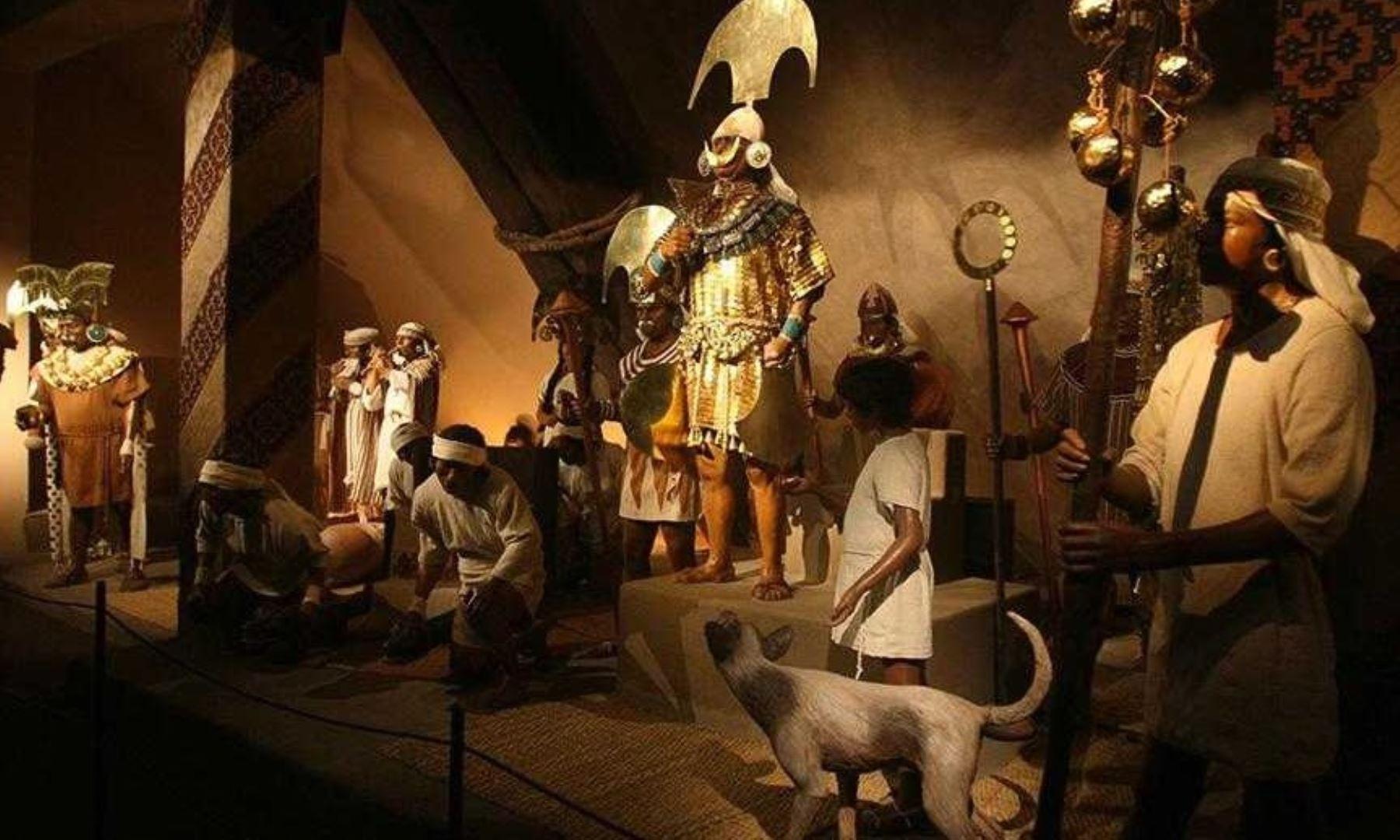 Réplicas del Señor de Sipán se exhibirán en Chile y Panamá. ANDINA/Difusión