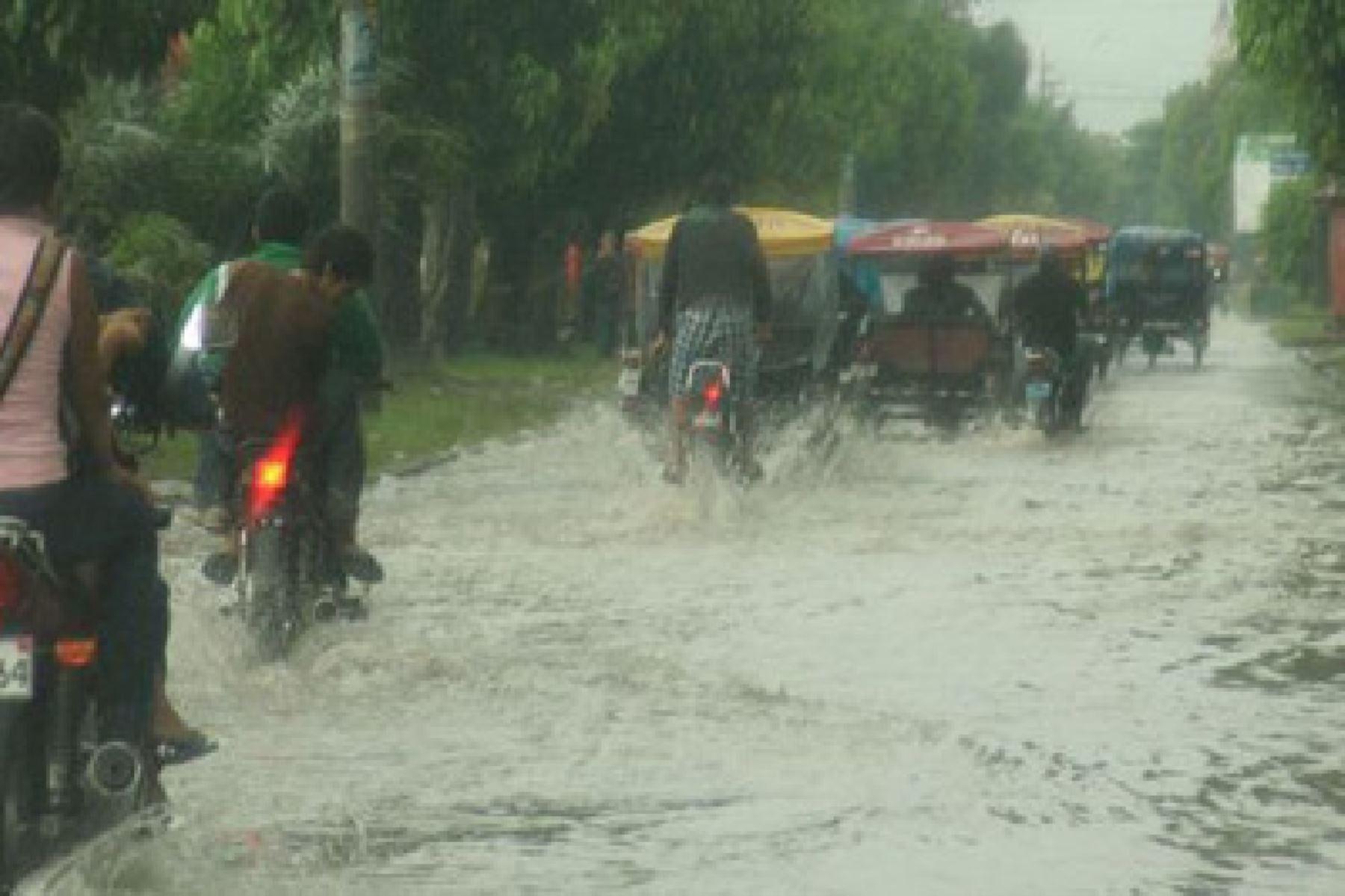 El segundo distrito que reportó el mayor acumulado pluvial fue La Pólvora, en la región San Martín.