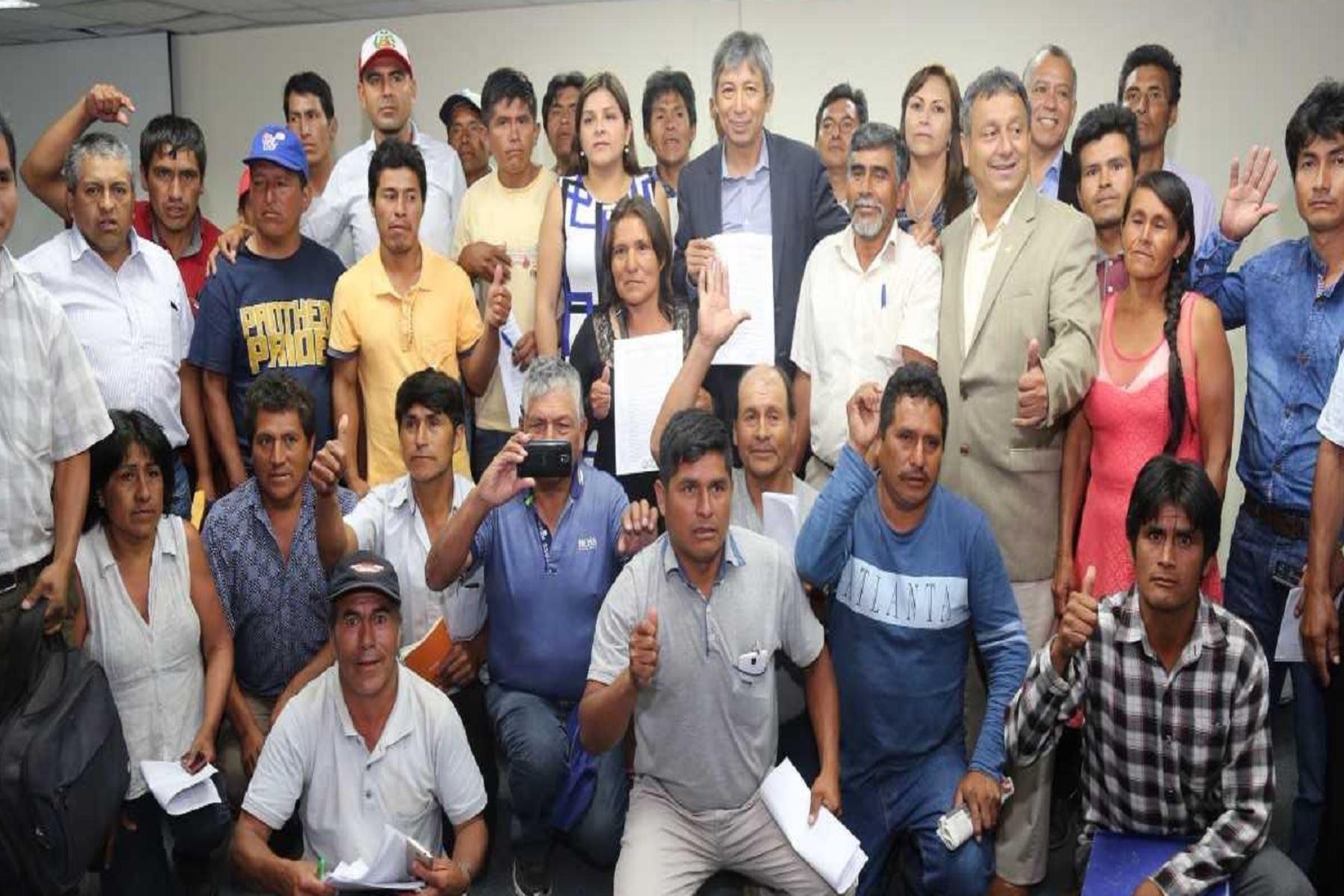 Ministerio de Agricultura y Riego promoverá la construcción de planta de procesamiento de papa en Huánuco, Ambo y Pachitea,