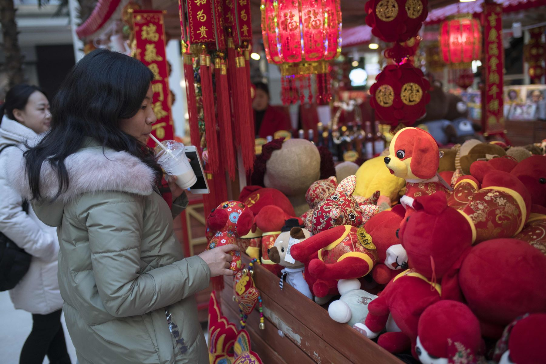 Consumo impulsa crecimiento de la economía china. AFP