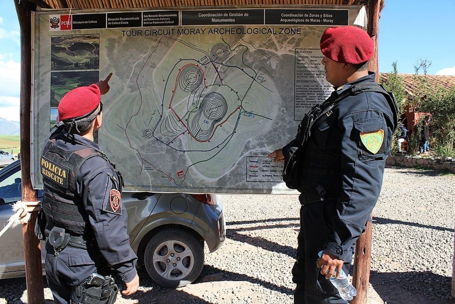 Más de 660 policías reforzarán la seguridad en Cusco durante Fiestas Patrias. ANDINA/Percy Hurtado