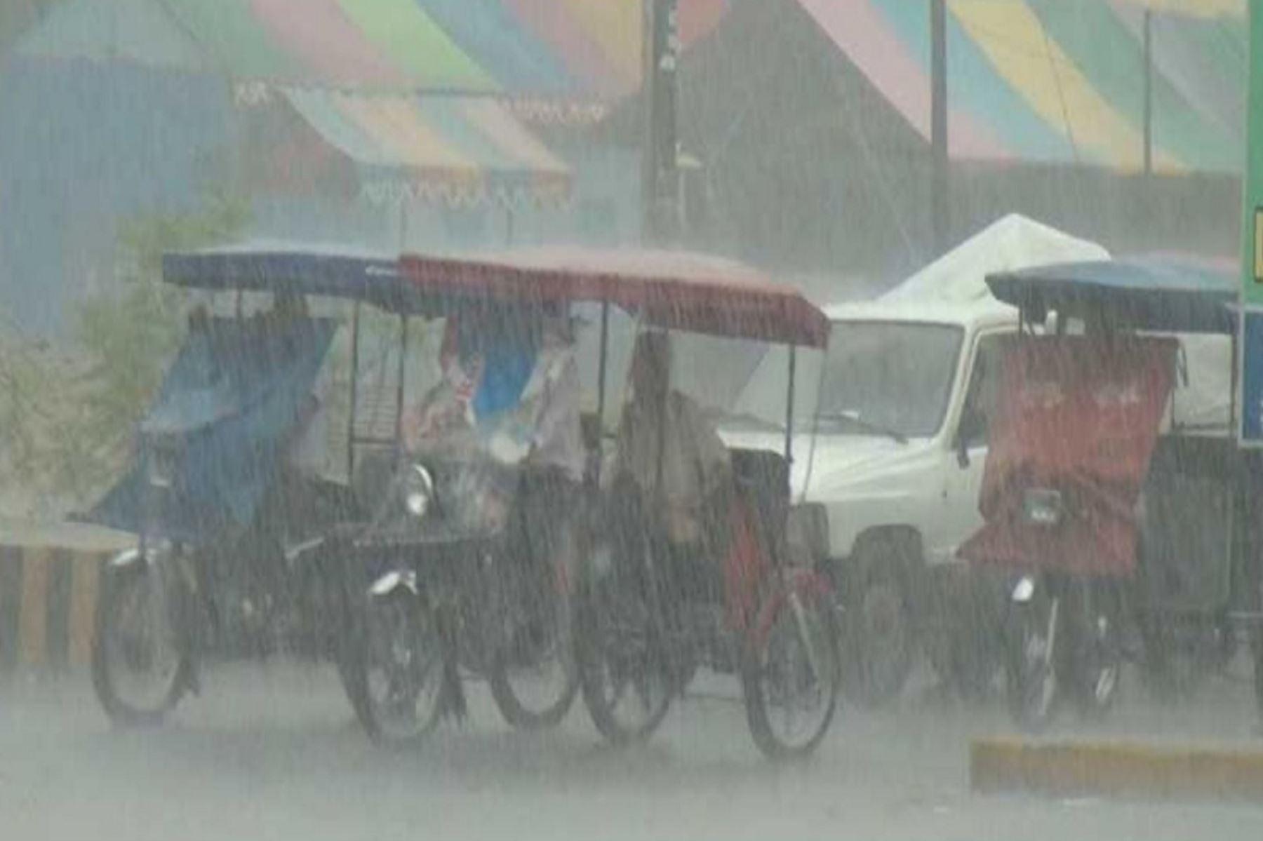 Acumulado pluvial superó los 50 milímetros de agua por día.