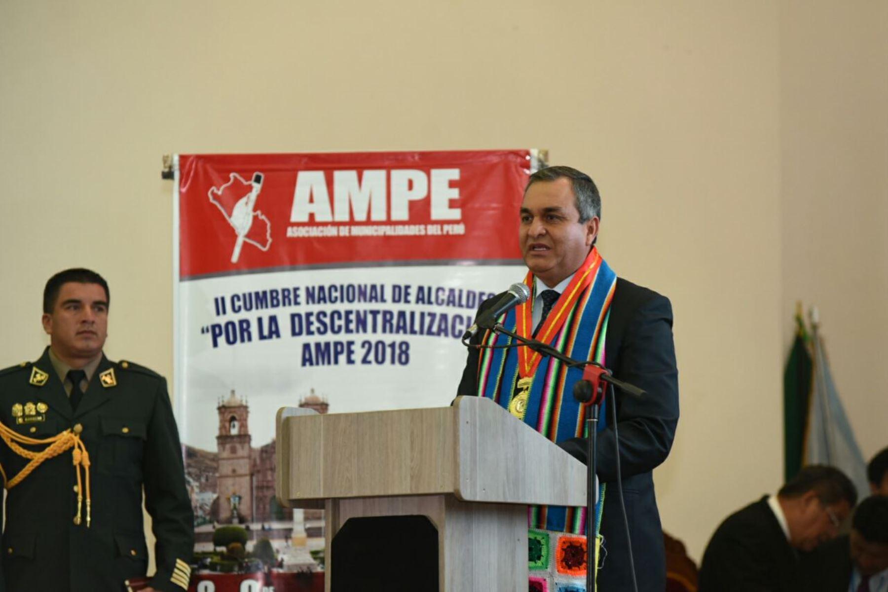 Vicente Romero praticipa en II Cumbre Nacional de la Descentralización del Perú. Foto: Difusión