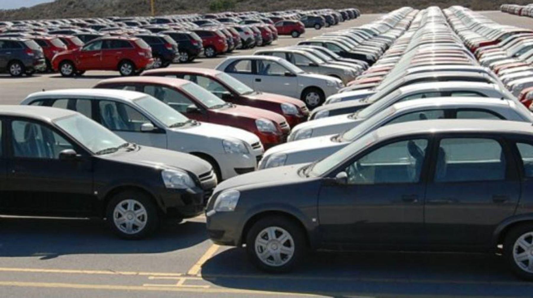 Autos usados. Foto: ANDINA/Difusión.