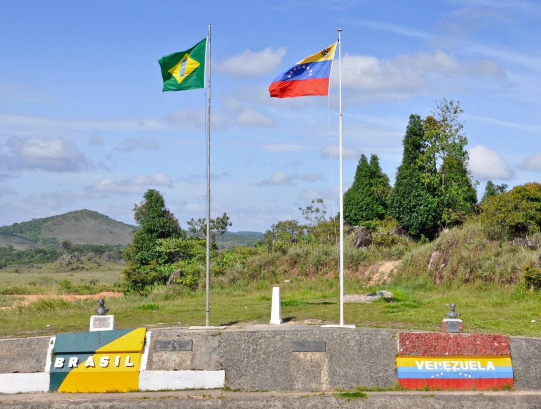 El estado fronterizo de Roraima, en Brasil. Foto: EFE