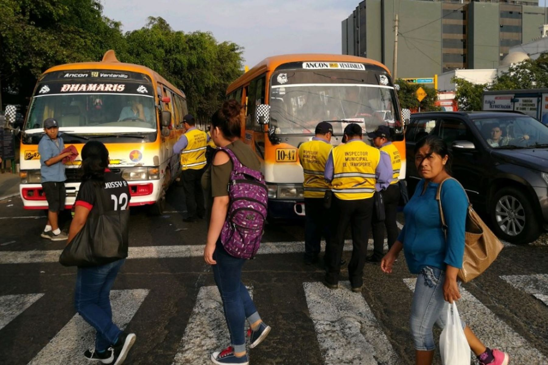 Erradican paradero informal de buses en Jesús María, Foto: Andina/Difusión