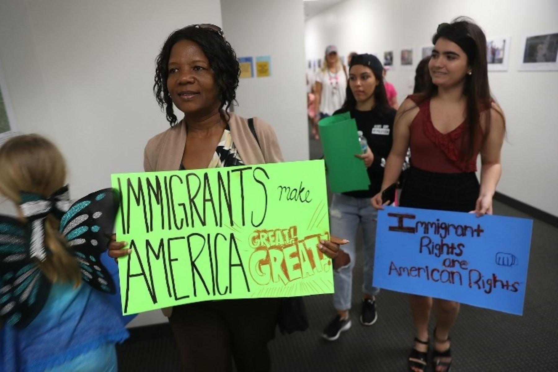 Inmigrantes Estados Unidos piden mantener programa Daca. AFP