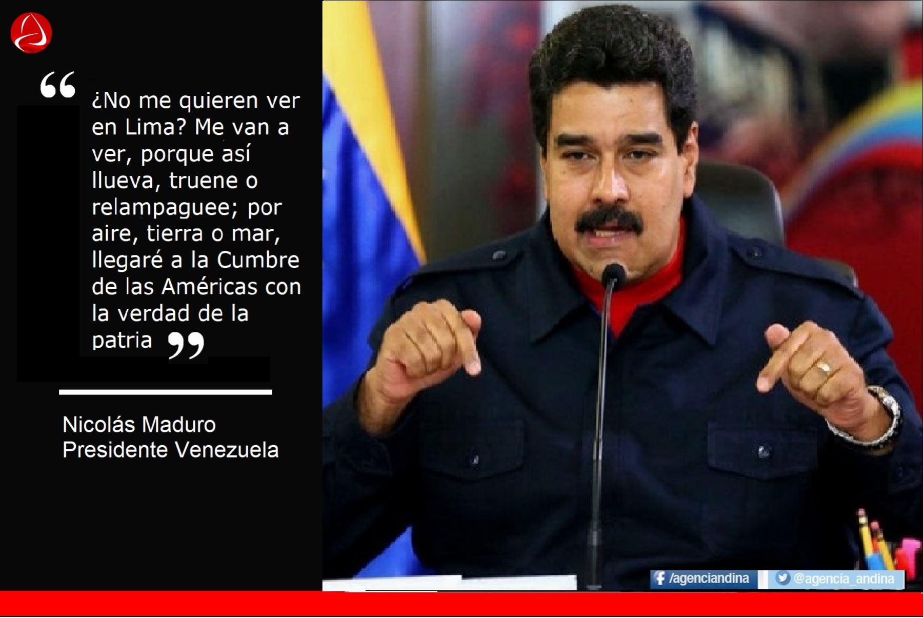 Nicolás Maduro Las Frases Más Polémicas Contra Los
