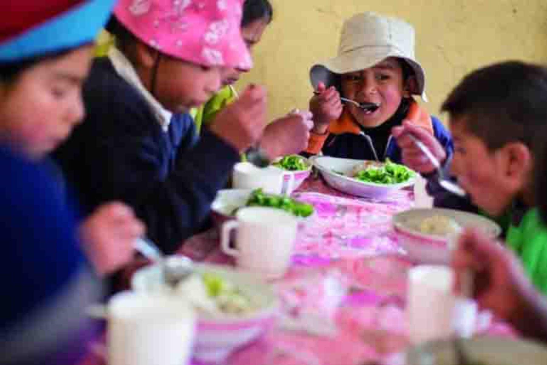 Banco Mundial destaca reducción de índices de desnutrición en el Perú. ANDINA/Difusión