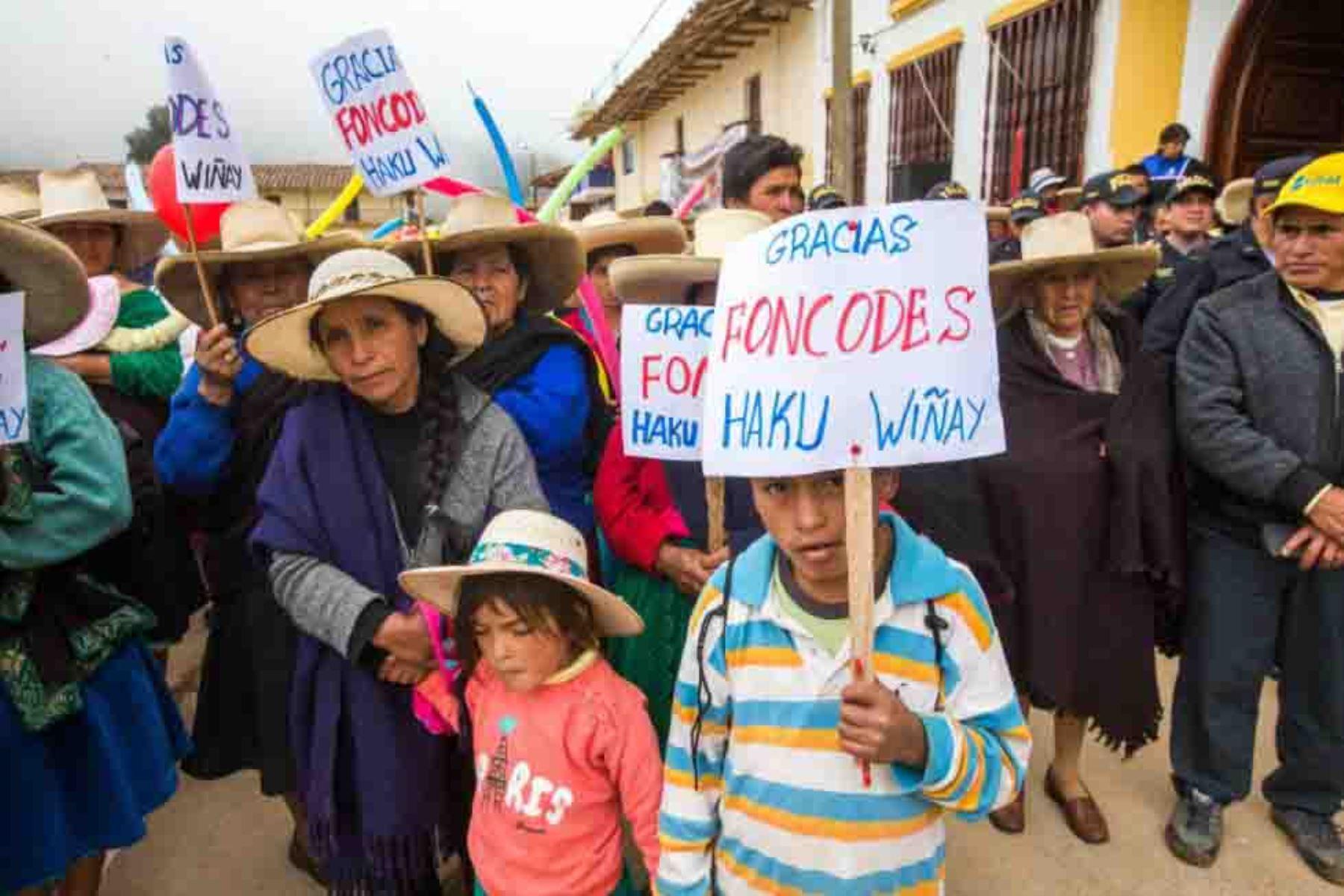 """Midis implementa plan """"Anemia cero"""" en Curgos, el distrito más pobre del Perú"""