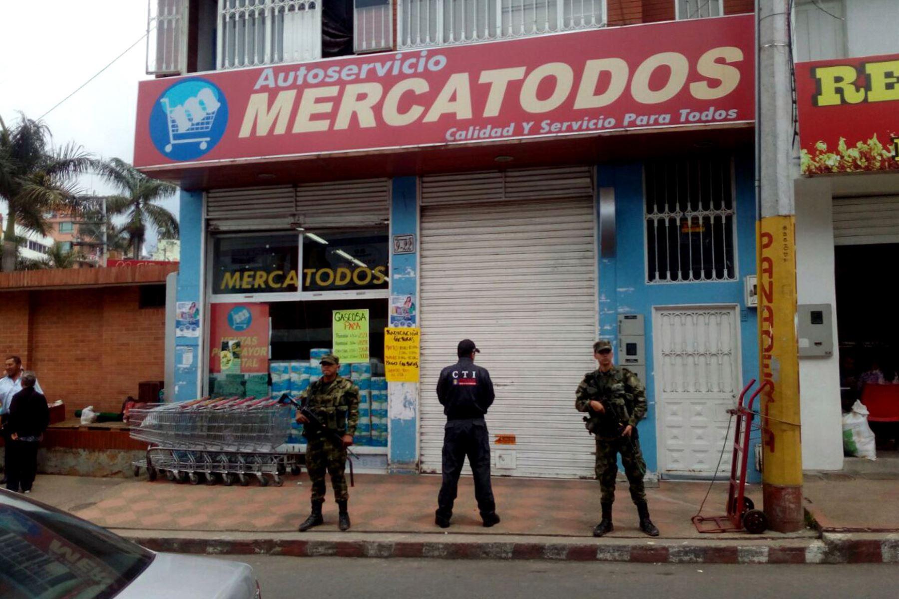 Fiscalía de Colombia incauta supermercados de la Farc.