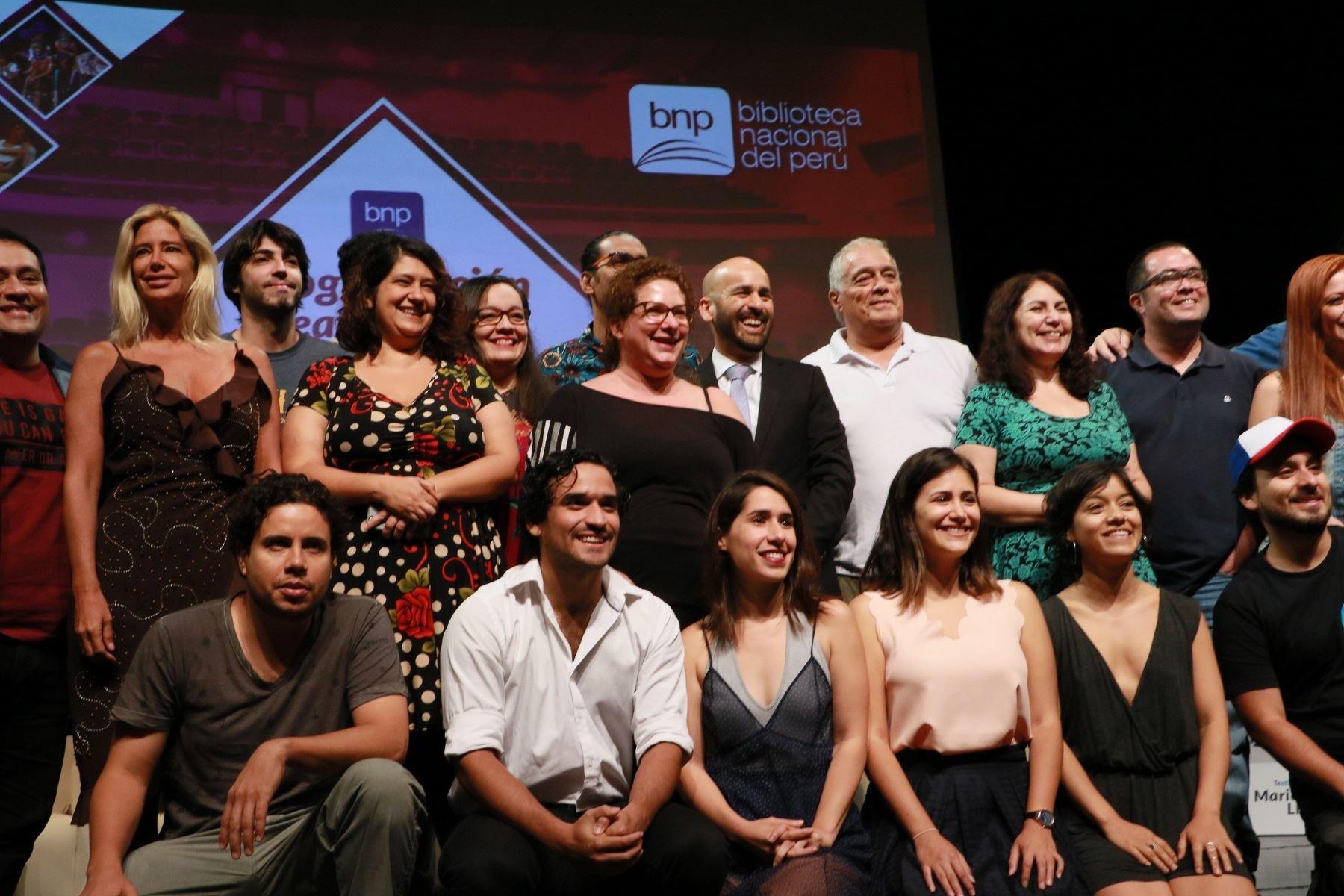 Programación teatral 2018 Foto: BNP