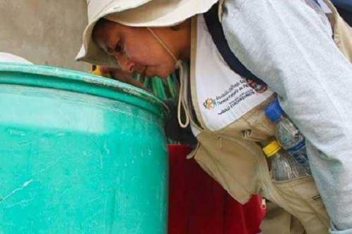Intervienen más de 5,000 viviendas para evitar el dengue en Piura. ANDINA/Difusión