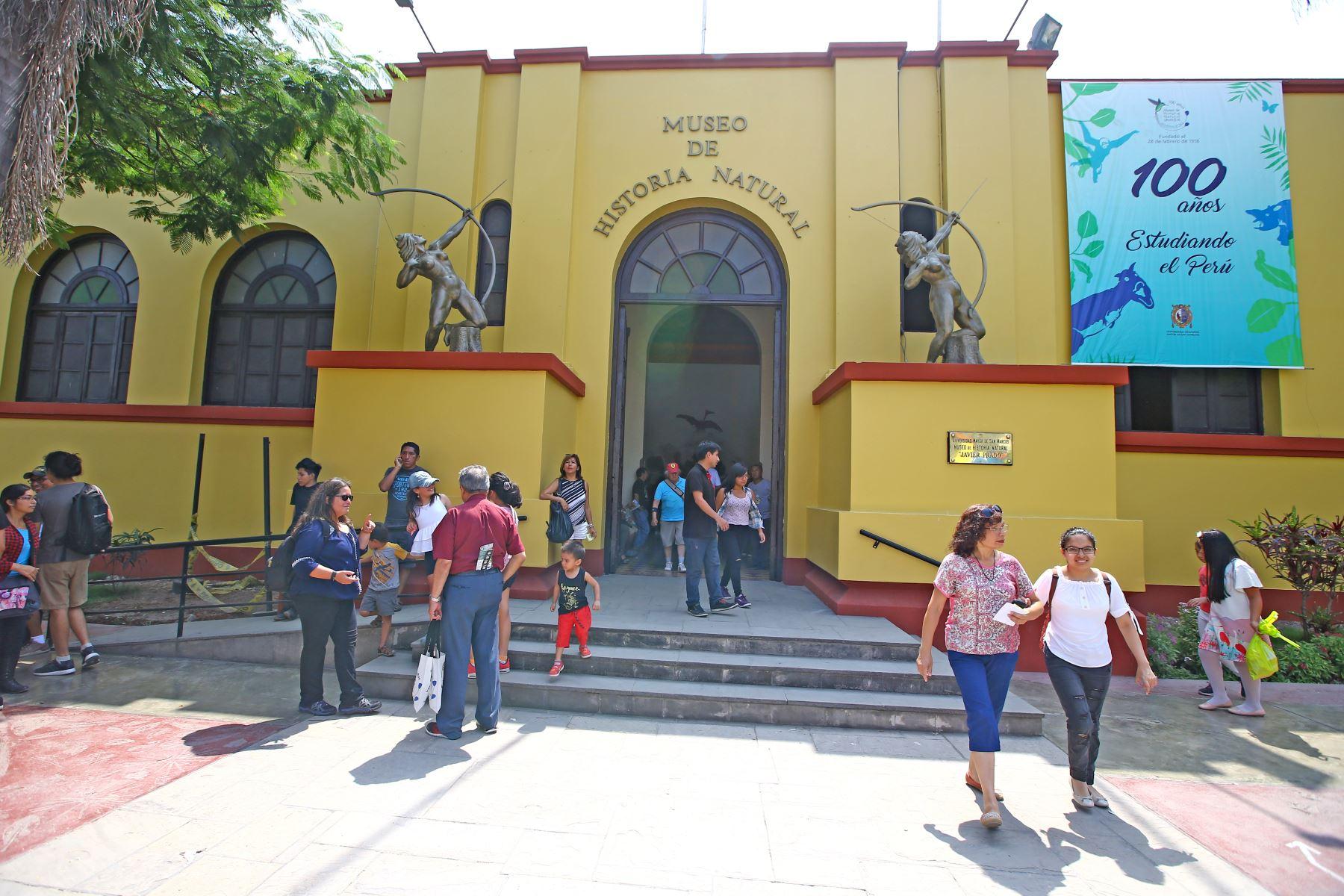 25/02/2018   El Museo de Historia Natural cumple 100 años. Foto: ANDINA/Melina Mejía