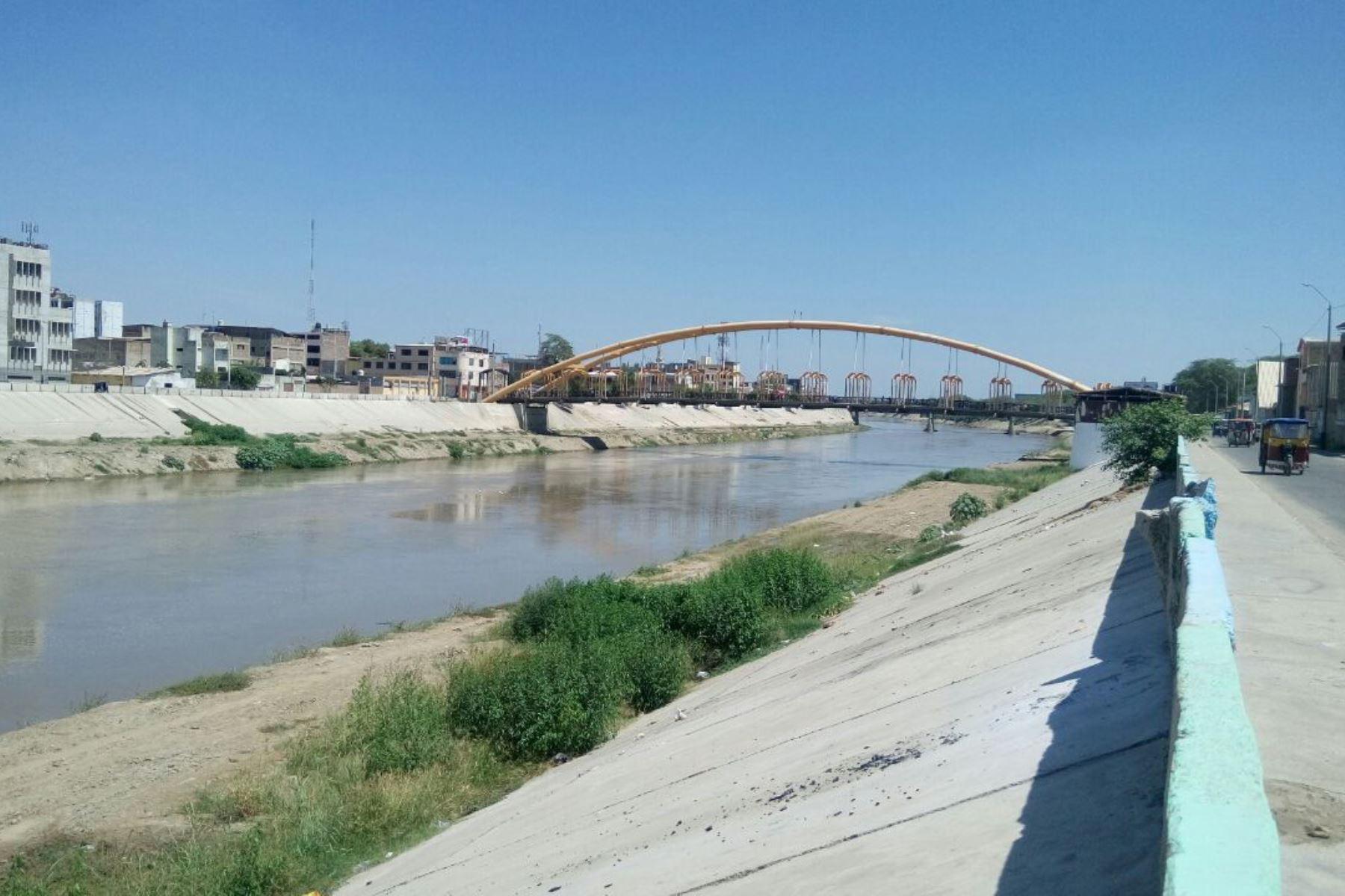 Se incrementa caudal del río Piura sin causar daños en zonas aledañas. ANDINA/Difusión