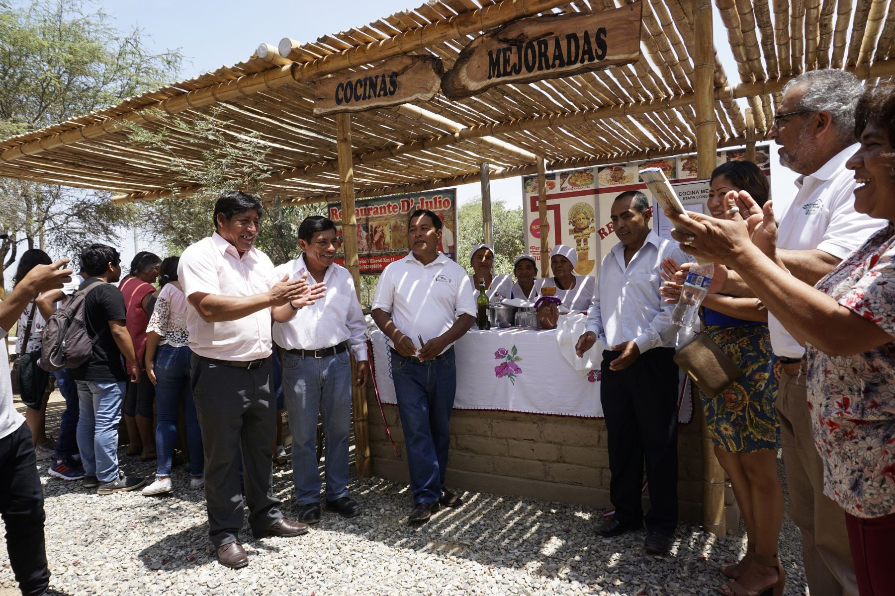 Museo de Túcume inaugura escenario para ferias gastronómicas. ANDINA