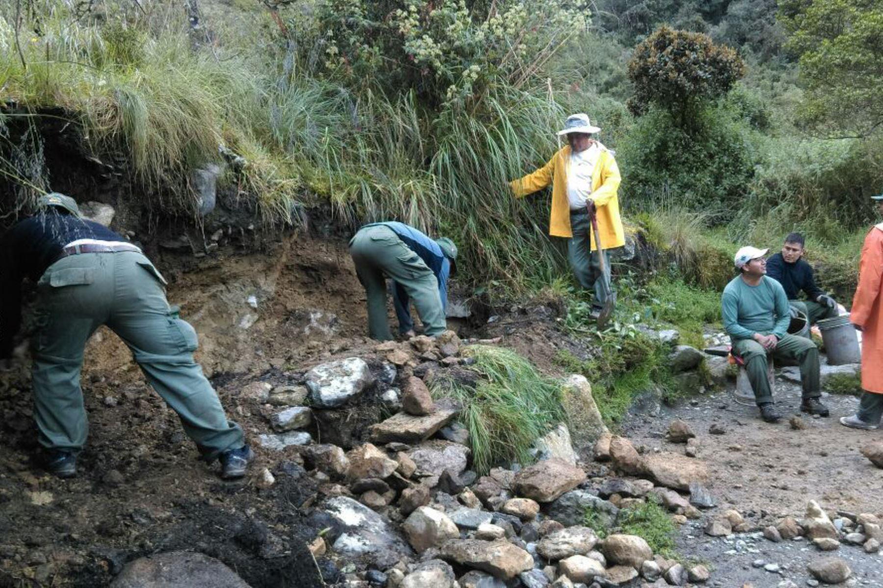 Sernanp confirma la reapertura del Camino Inca a Machu Picchu. ANDINA/Difusión