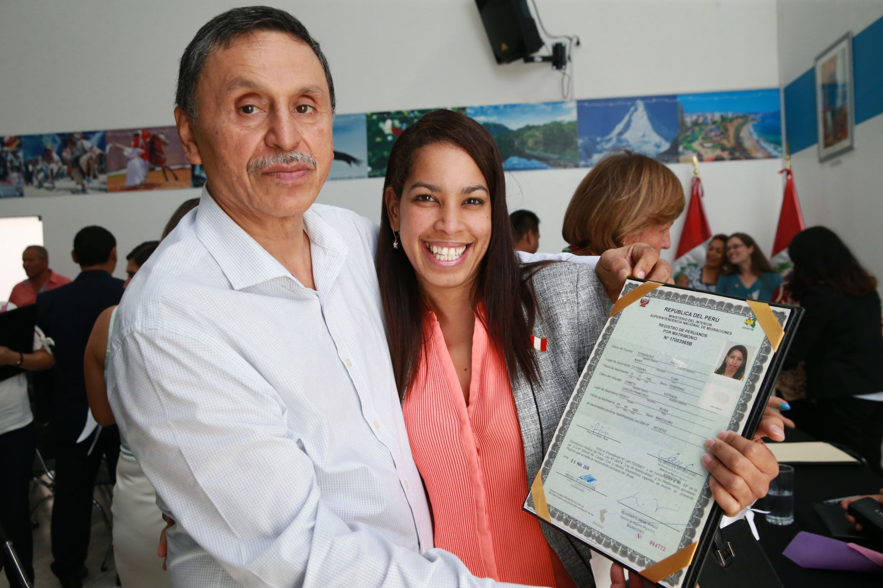 Naiky Fernández Pagés de Cuba. Foto: ANDINA/Norman Córdova