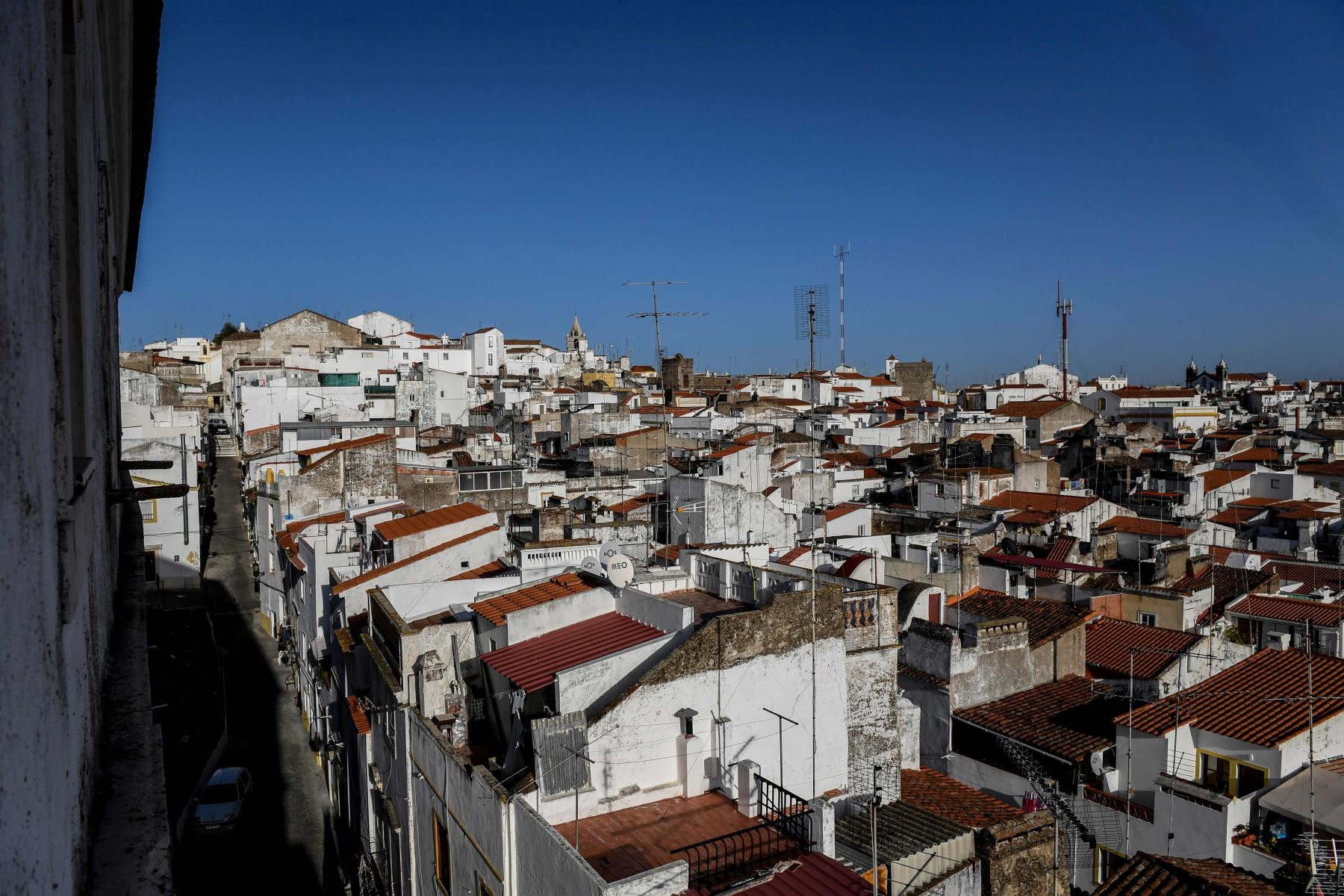 Ciudad de Elvas, Portugal. Foto: AFP