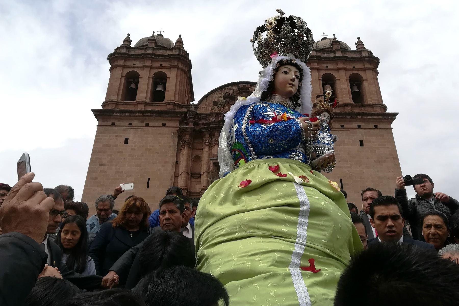 Restaurarán imagen de la virgen de Belén Patrona Jurada de Cusco. ANDINA/Percy Hurtado