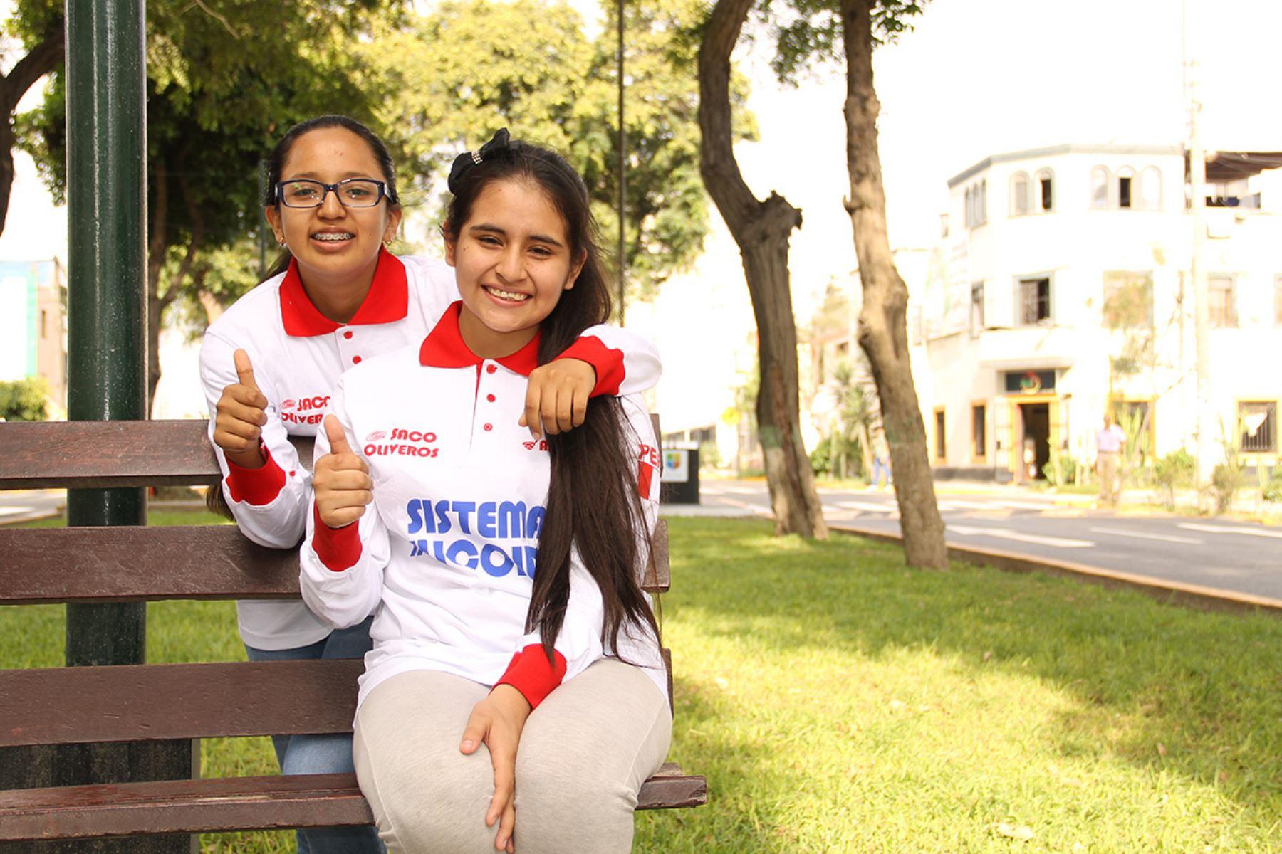 Carla y Mónica están entusiasmadas con la próxima competencia. Foto: Difusión