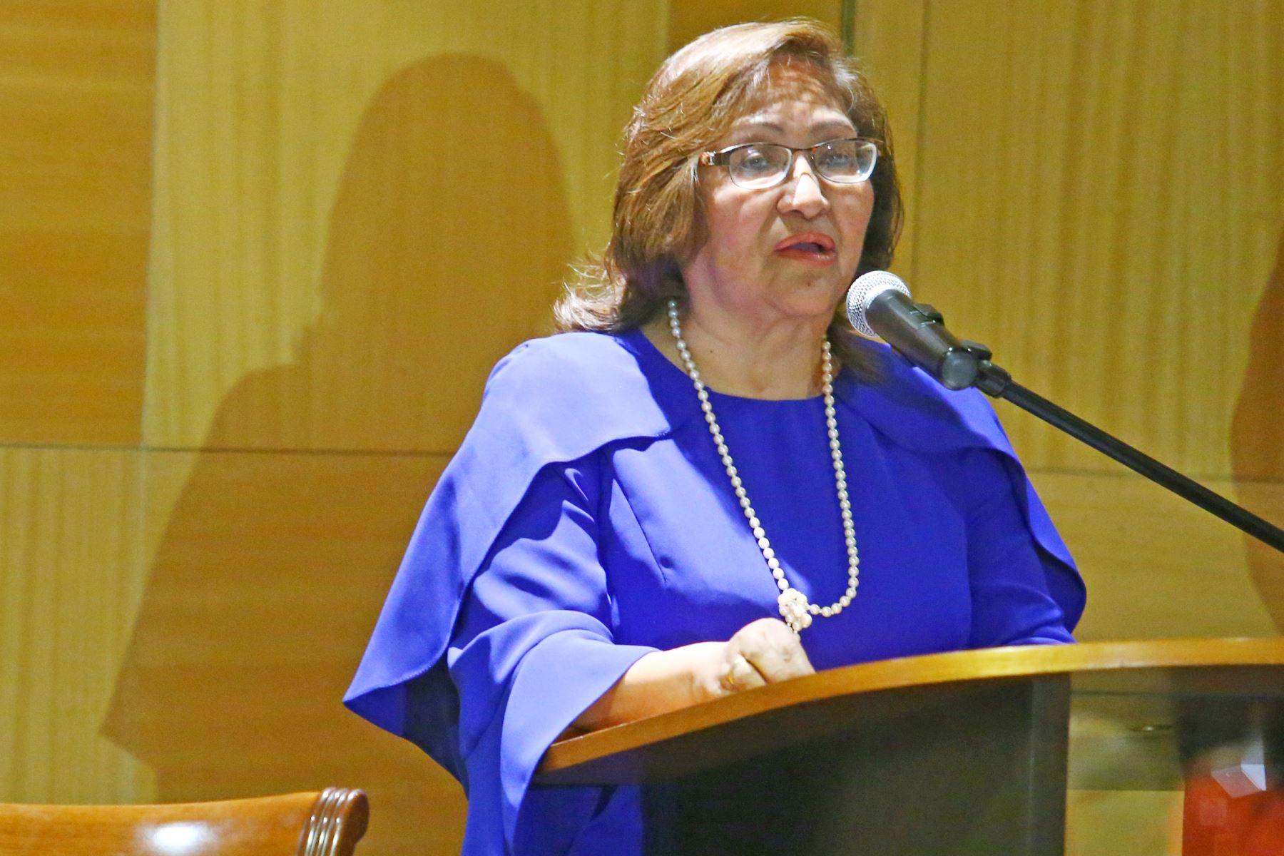 Ministra de la Mujer, Ana María Choquehuanca, apuesta por la autonomía económica y el empoderamiento social de la mujer peruana. ANDINA/Melina Mejía