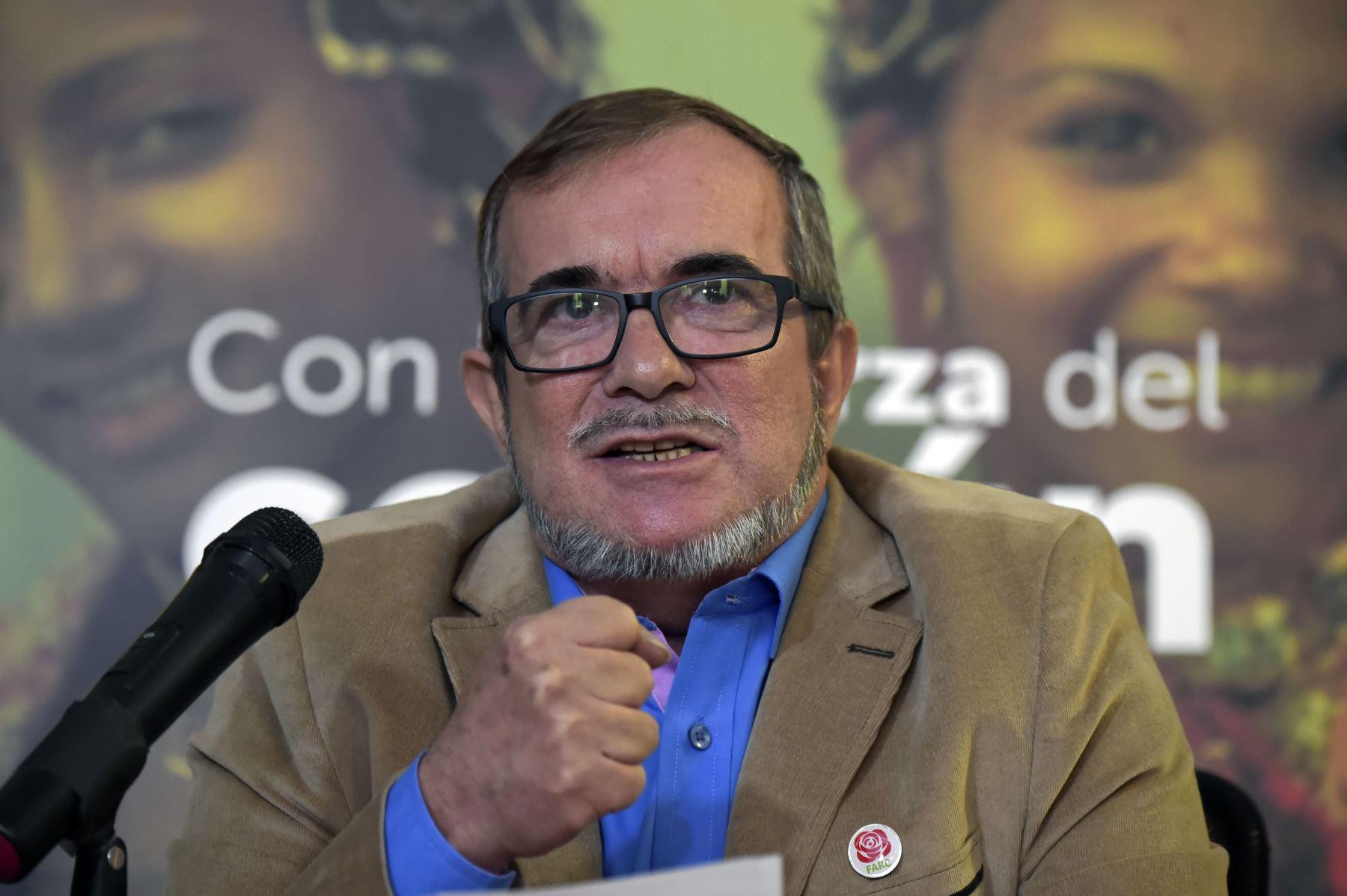 """Rodrigo Londono, alias """"Timochenko"""". Foto: AFP"""