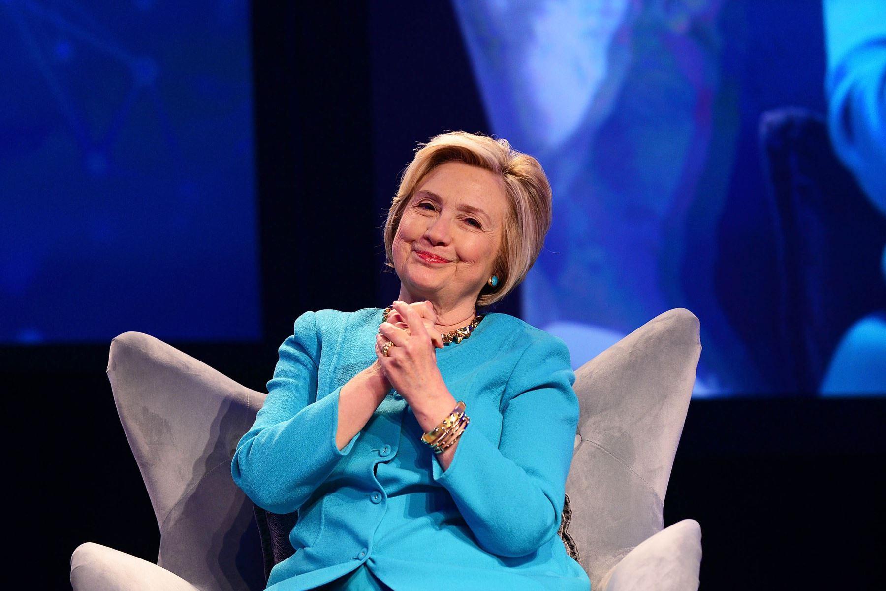 """Hillary Clinton (Política) """"Las mujeres son la mayor reserva de talento sin explotar en el mundo"""". Foto: AFP"""