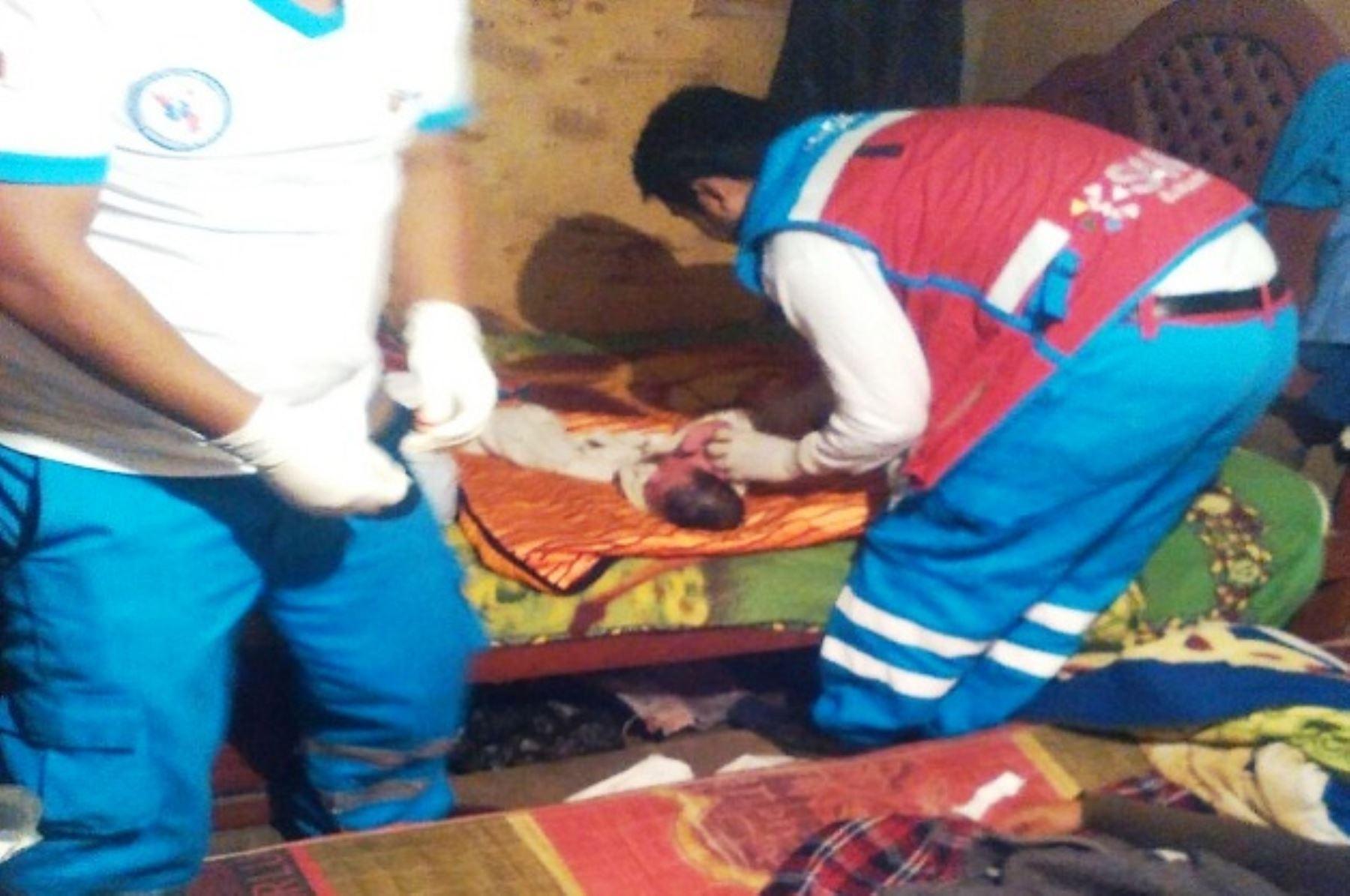 Ambulancias del SAMU atendieron cerca de 50 partos en Lima durante el 2017. Foto: ANDINA/Difusión.