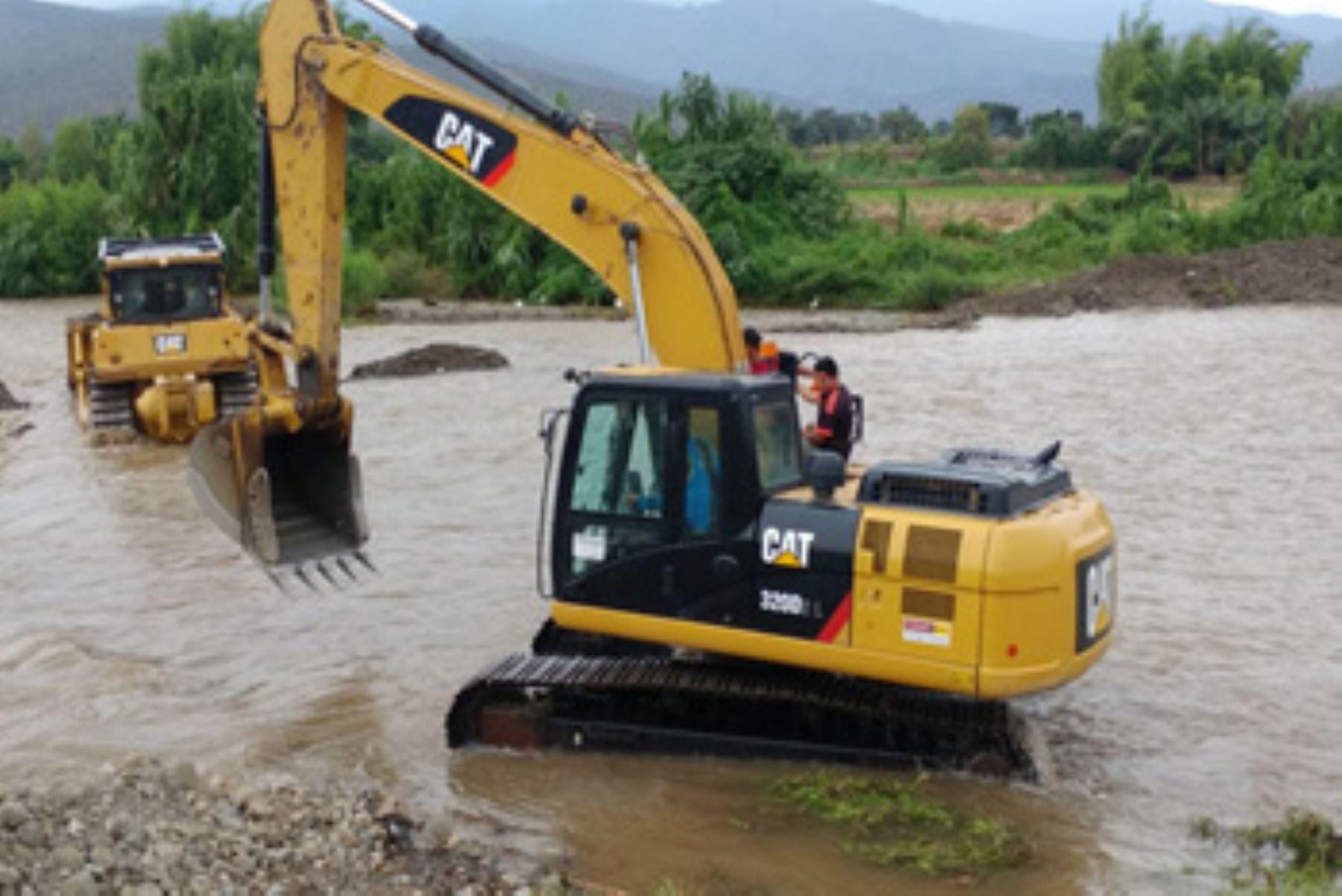 Más de 2,000 puestos de trabajo locales generaron los trabajos de prevención realizados por el Ministerio de Agricultura y Riego, a través del Programa Subsectorial de Irrigaciones, en los ríos y quebradas de la región Lambayeque.