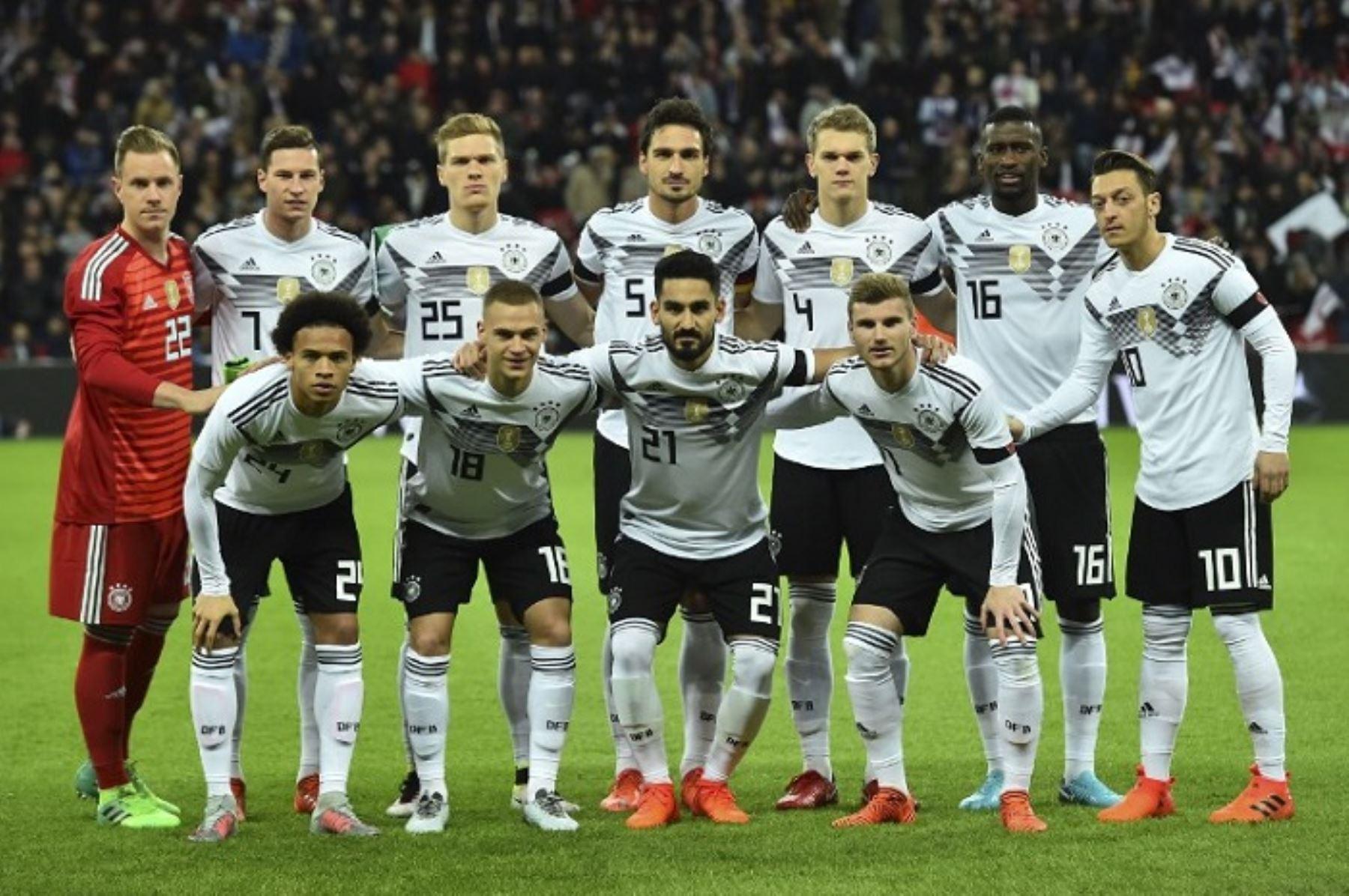 Alemania es una de las favoritas para levantar el título mundial de Rusia 2018.