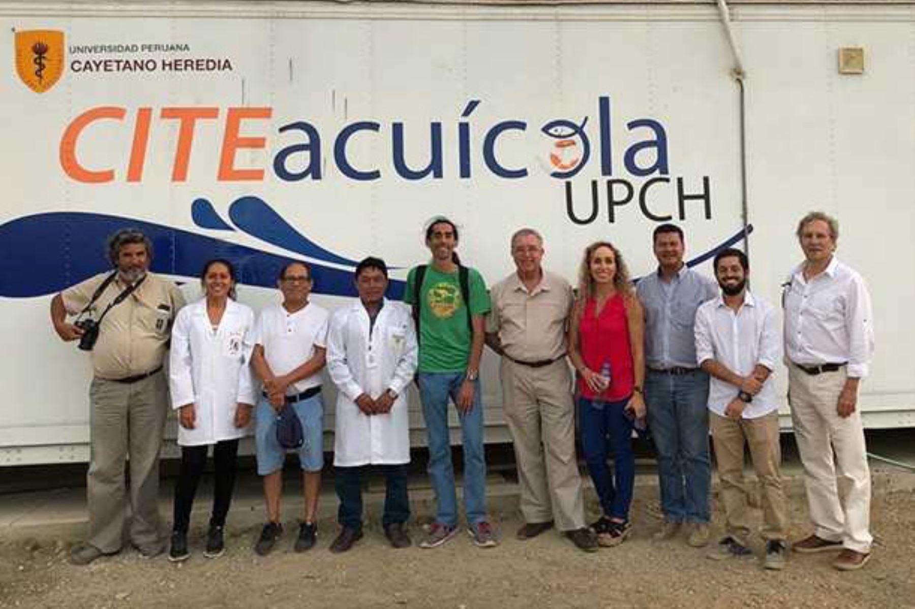 El viceministro de Pesca y Acuicultura del Ministerio de la Producción, Héctor Soldi Soldi, visitó el CITE Acuícola de la Universidad Peruana Cayetano Heredia (CITE Acuícola UPCH) del ITP-red CITE en Piura para conocer los proyectos e iniciativas que se desarrollan en beneficio del crecimiento del sector acuícola y pesquero de la zona norte del Perú.