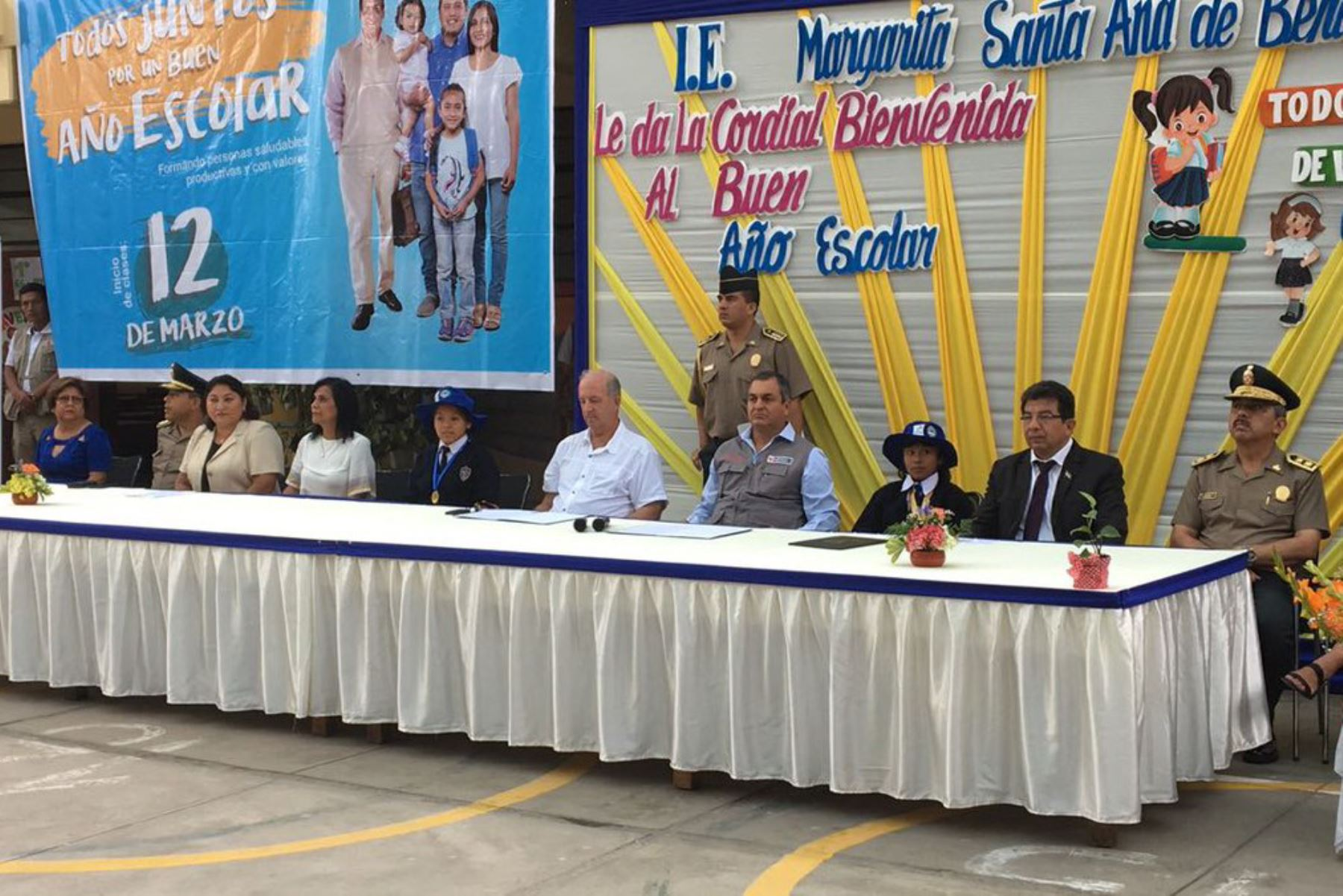 Ministro del Interior inicia Buen Año Escolar 2018 en Ica. ANDINA/Difusión