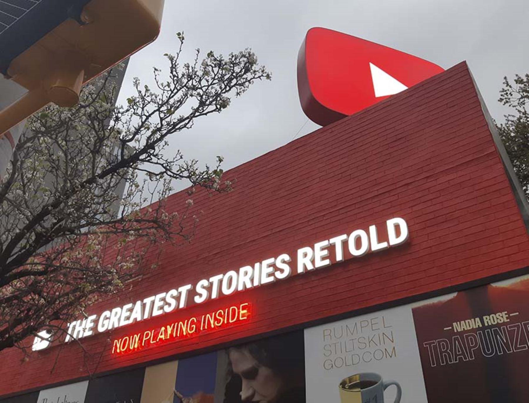 YouTube Story HQ es un espacio que promueve la creatividad de los creadores de video en la plataforma de Google. Esta exposición fue programada del 10 al 14 de marzo en marco de festival de cine y tecnología SXSW, en Austin, Texas. Foto: ANDINA