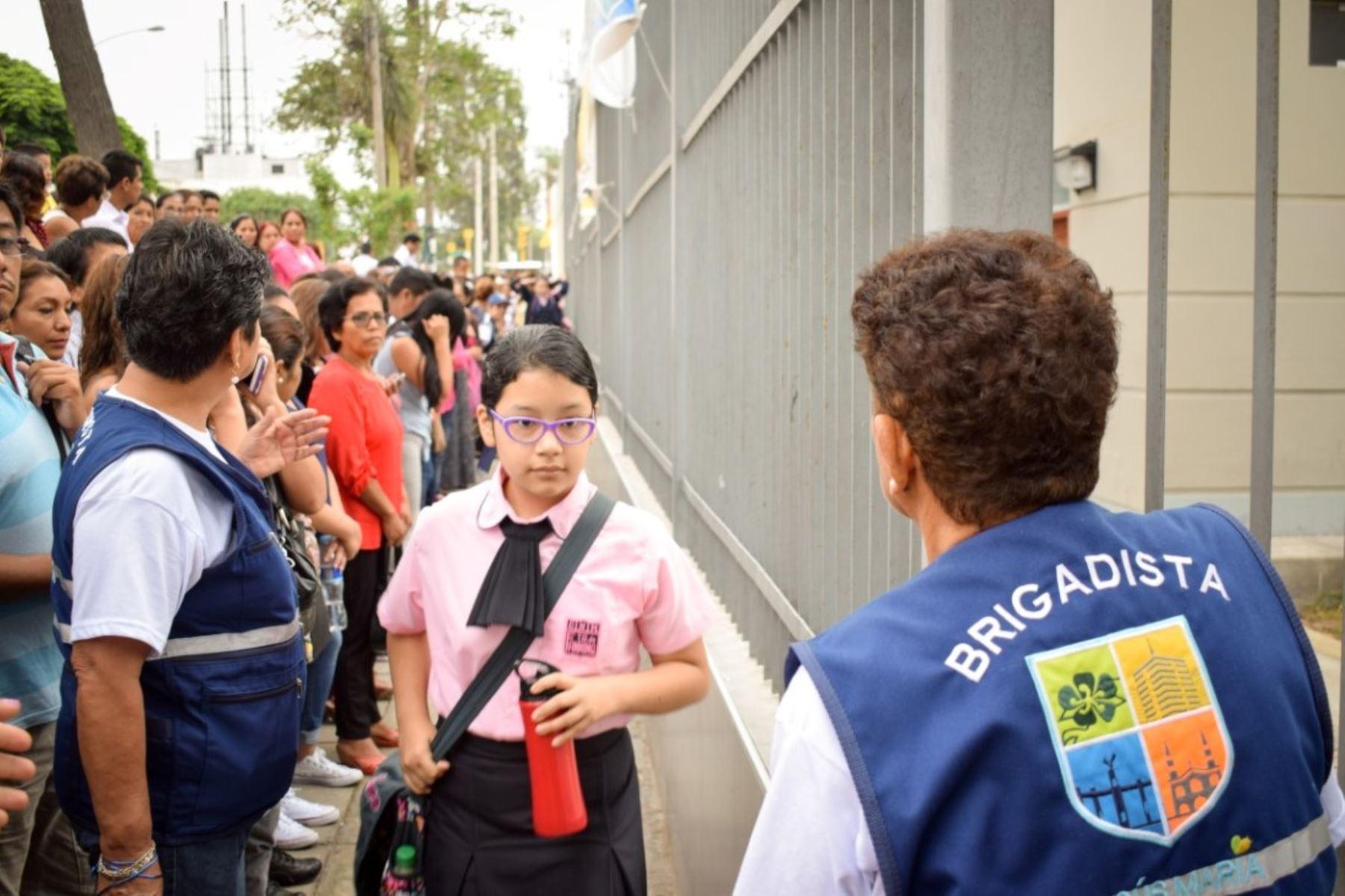 Jesús María implementa programa para reforzar seguridad de escolares. Foto: ANDINA/Difusión.